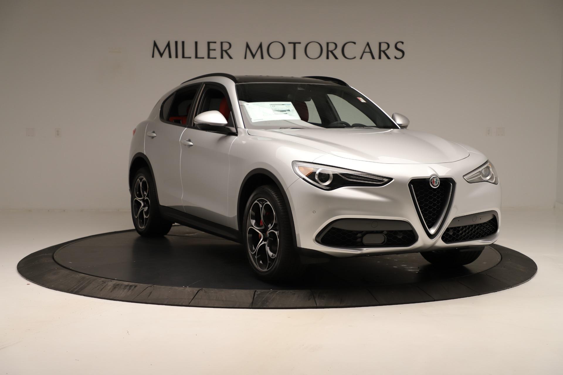 New 2019 Alfa Romeo Stelvio Ti Sport Q4 For Sale In Greenwich, CT 3323_p11