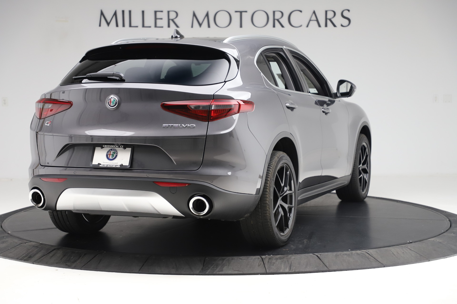 New 2019 Alfa Romeo Stelvio Ti Q4 For Sale In Greenwich, CT 3326_p7