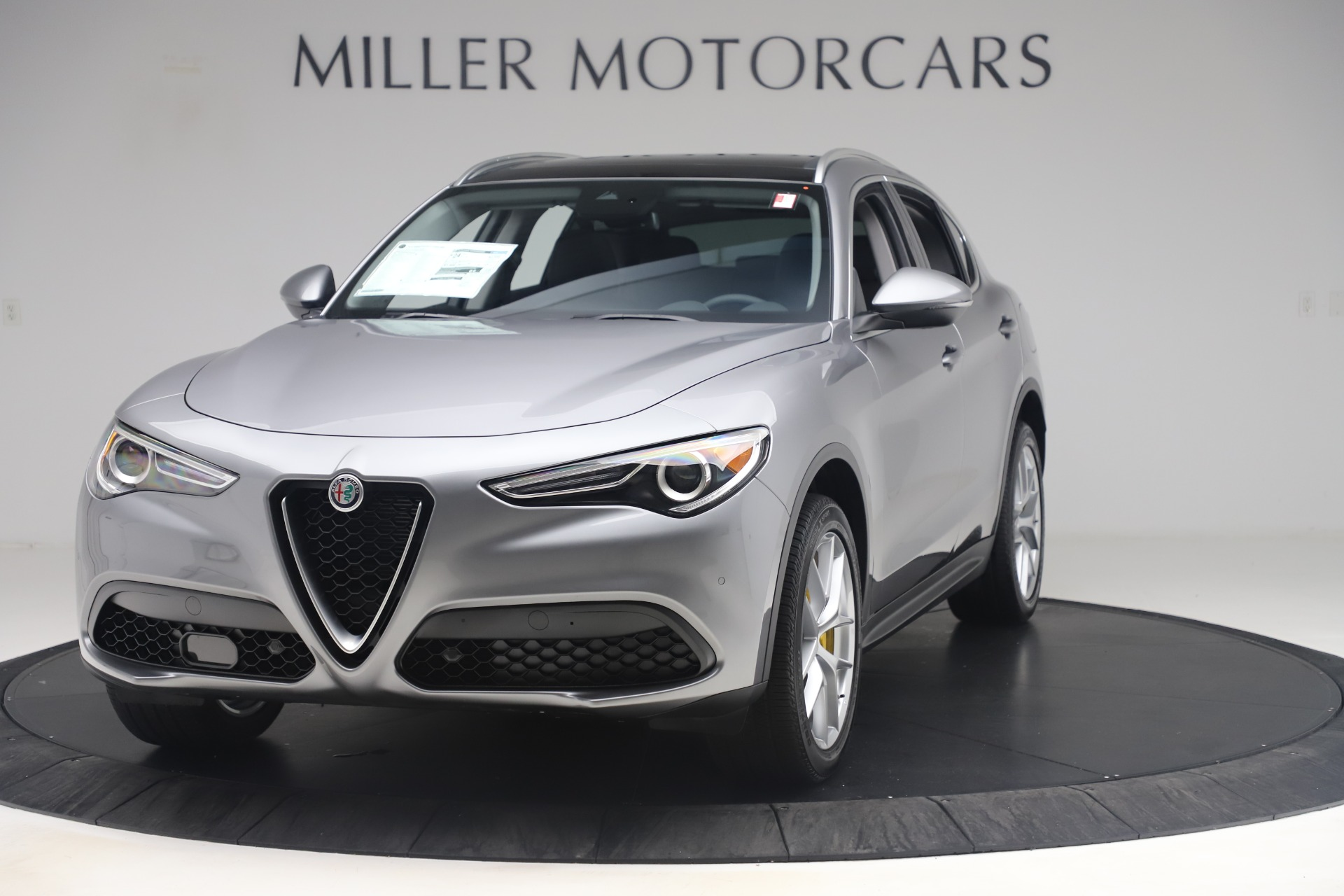 New 2019 Alfa Romeo Stelvio Ti Lusso Q4 For Sale In Greenwich, CT 3333_main