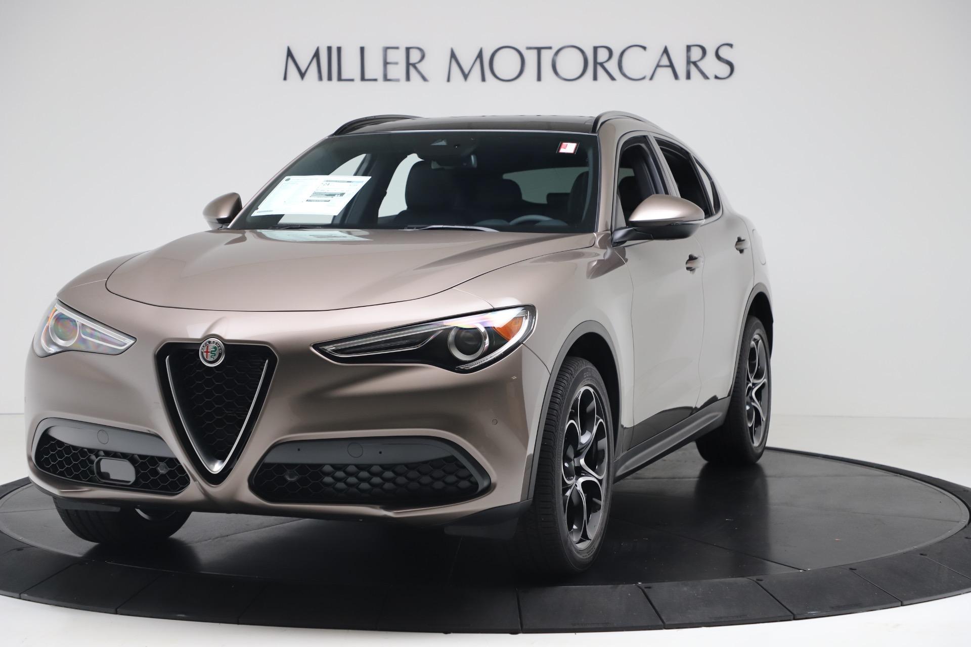 New 2019 Alfa Romeo Stelvio Ti Sport Q4 For Sale In Greenwich, CT 3337_main