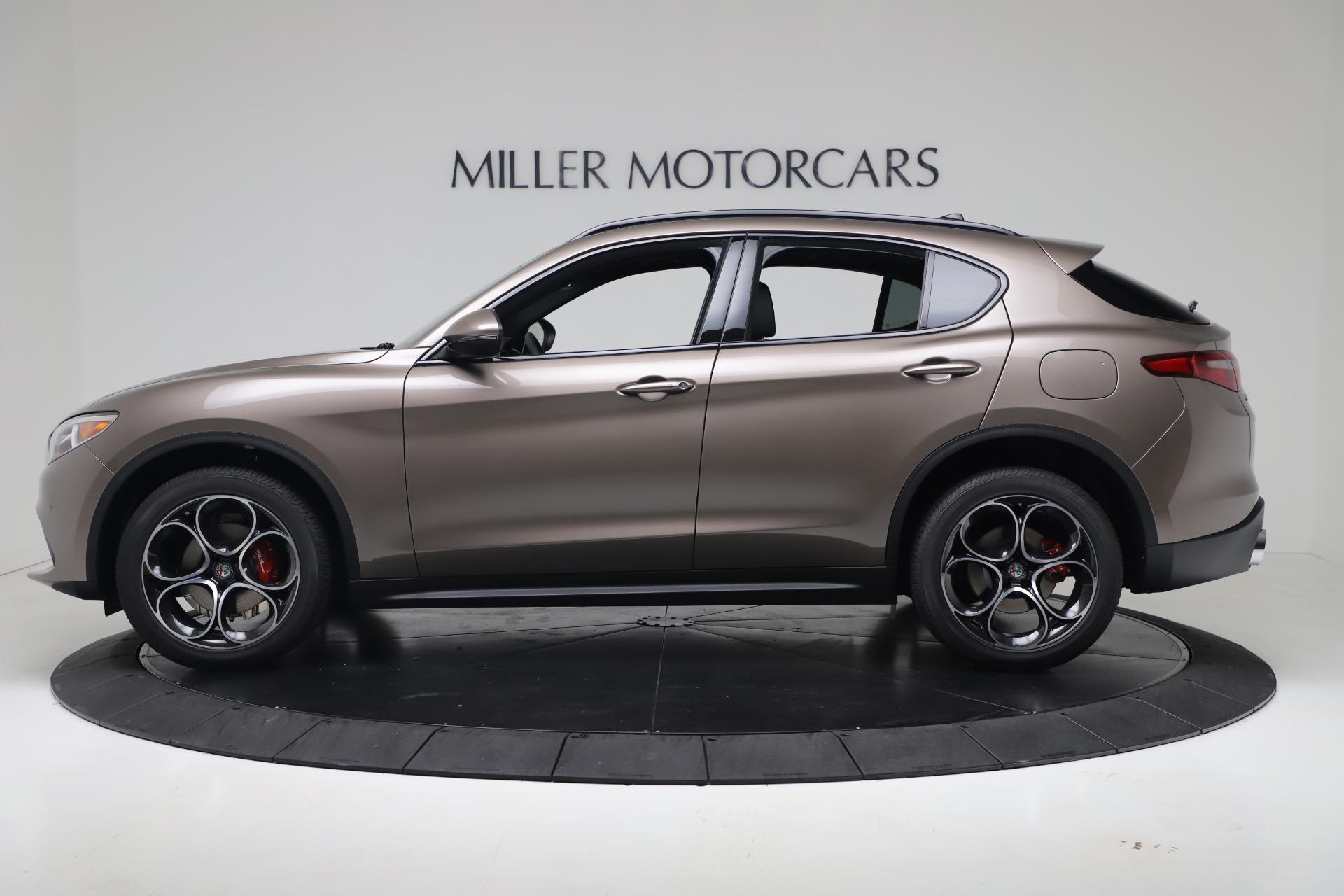 New 2019 Alfa Romeo Stelvio Ti Sport Q4 For Sale In Greenwich, CT 3337_p3