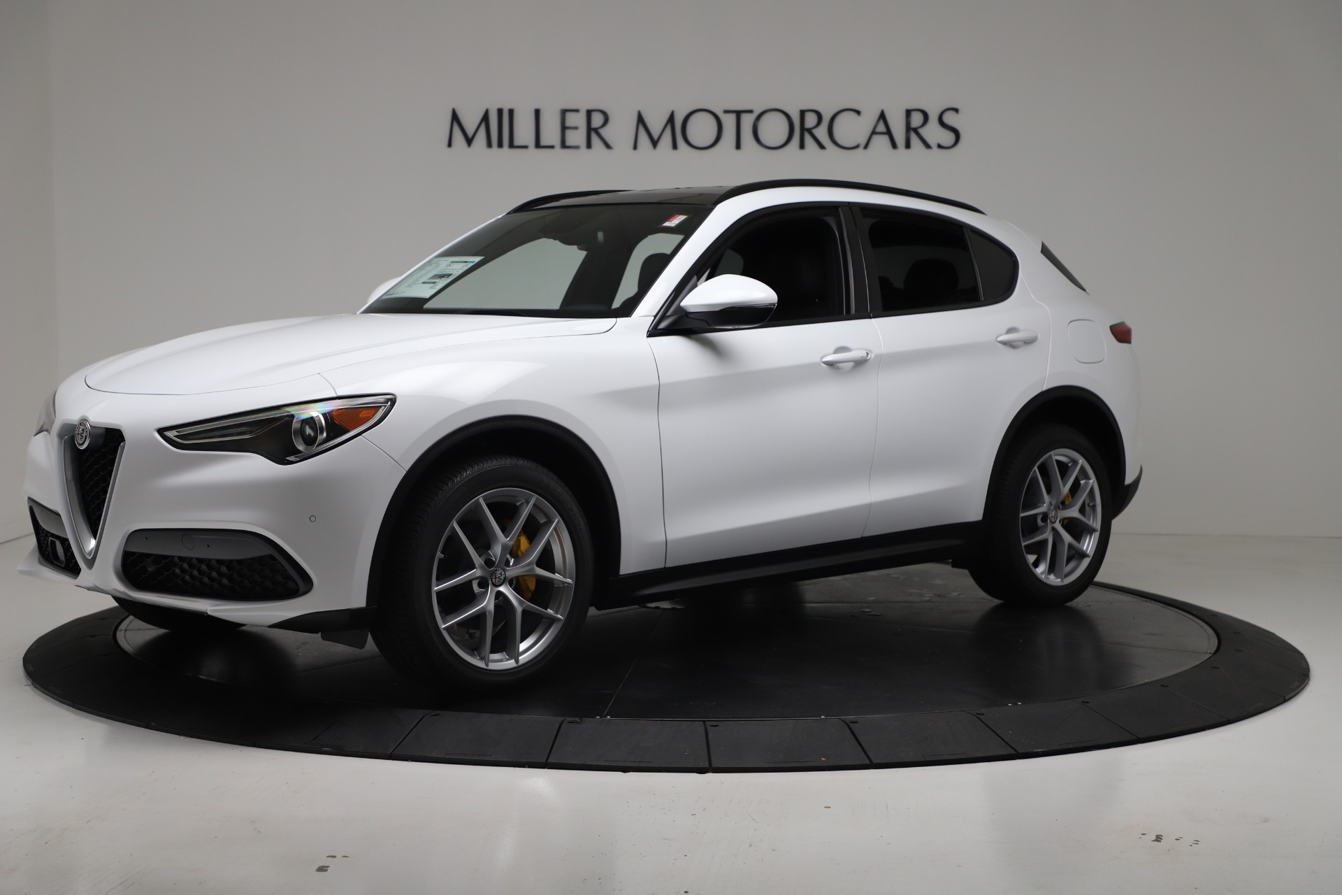 New 2019 Alfa Romeo Stelvio Ti Sport Q4 For Sale In Greenwich, CT 3347_p2