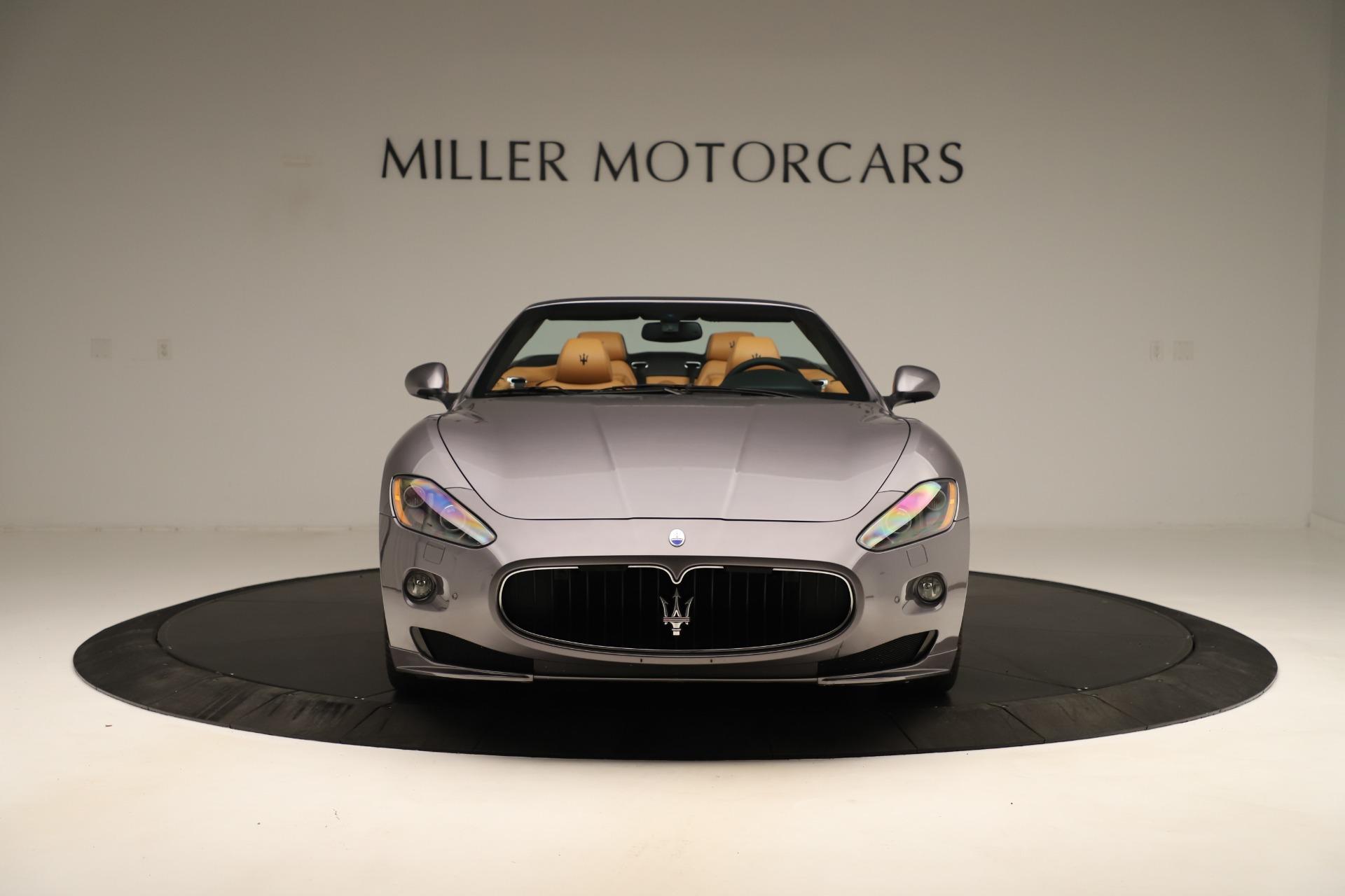 Used 2012 Maserati GranTurismo Sport For Sale In Greenwich, CT 3348_p12