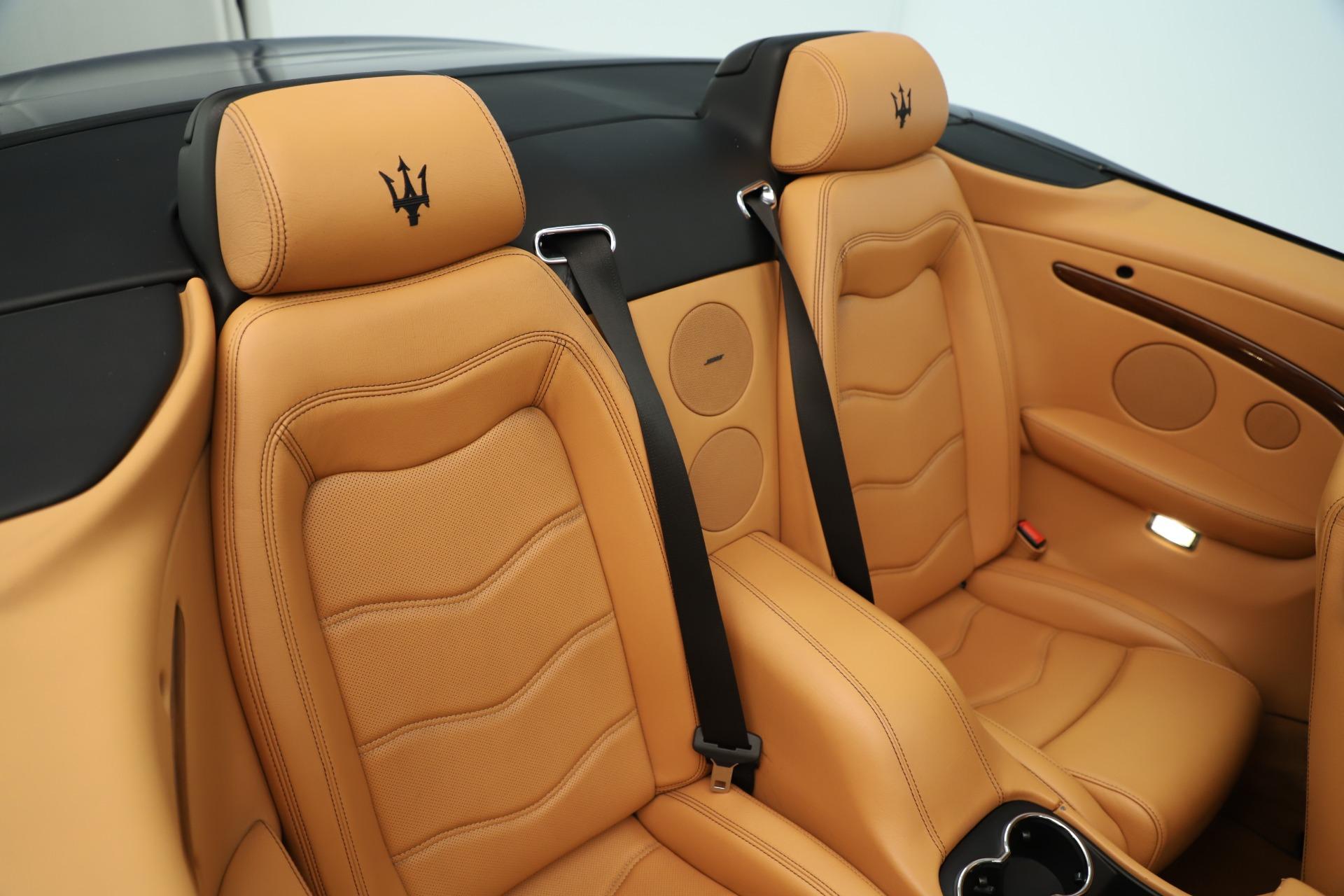 Used 2012 Maserati GranTurismo Sport For Sale In Greenwich, CT 3348_p29