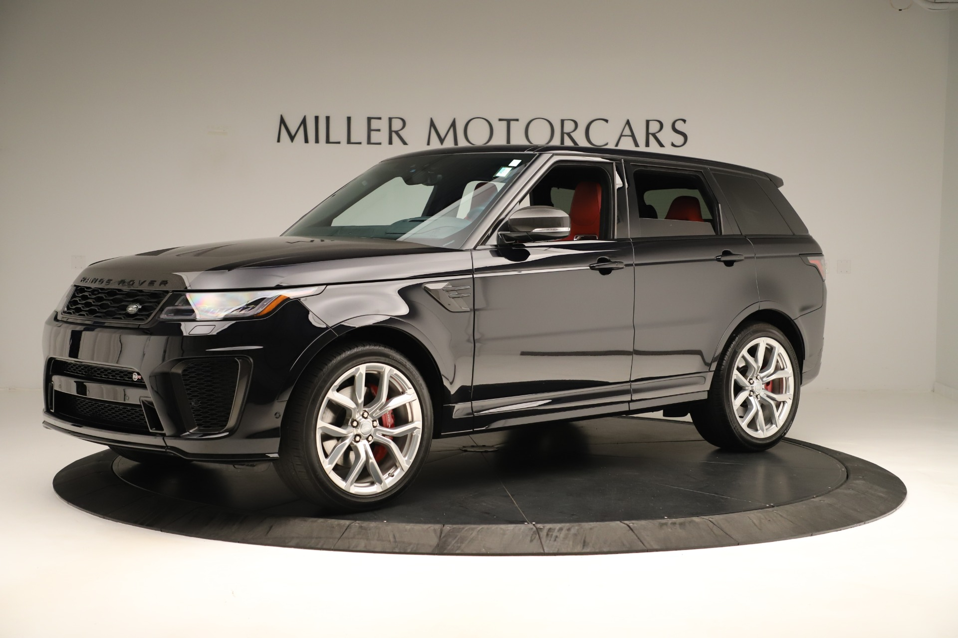 Used 2019 Land Rover Range Rover Sport SVR For Sale In Greenwich, CT 3353_p2
