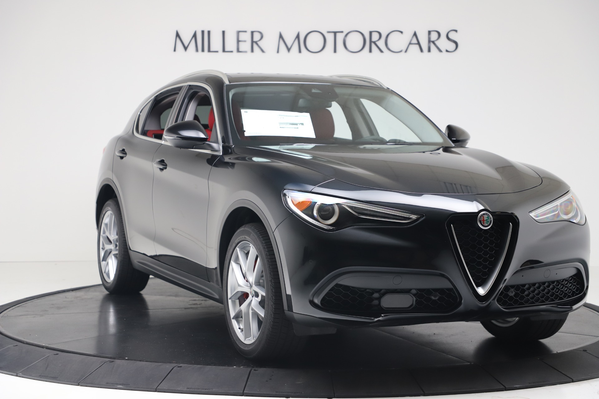 New 2019 Alfa Romeo Stelvio Ti Q4 For Sale In Greenwich, CT 3363_p11