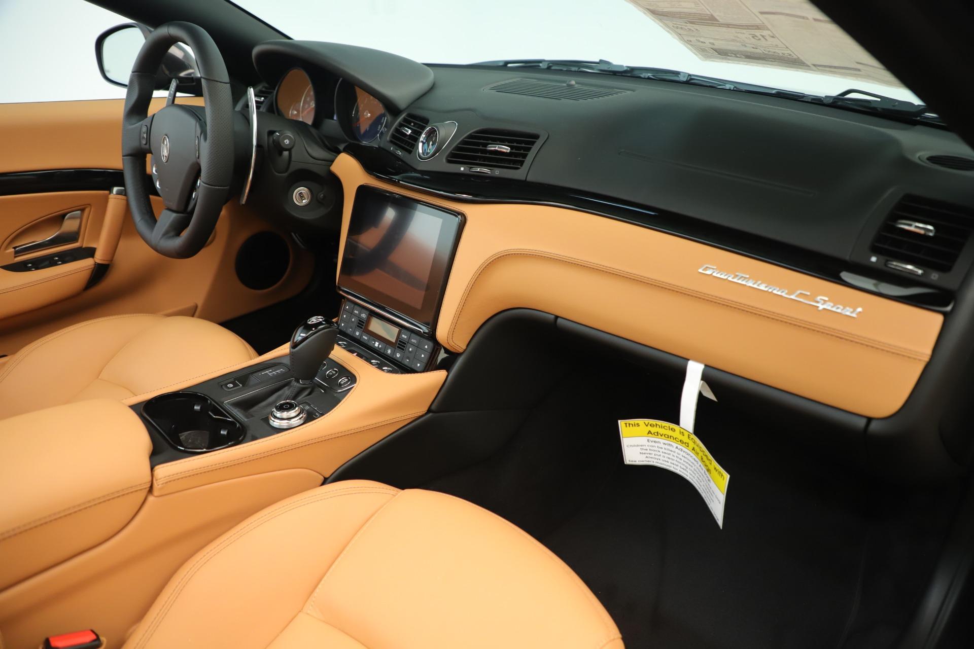 New 2019 Maserati GranTurismo Sport Convertible For Sale In Greenwich, CT 3367_p26