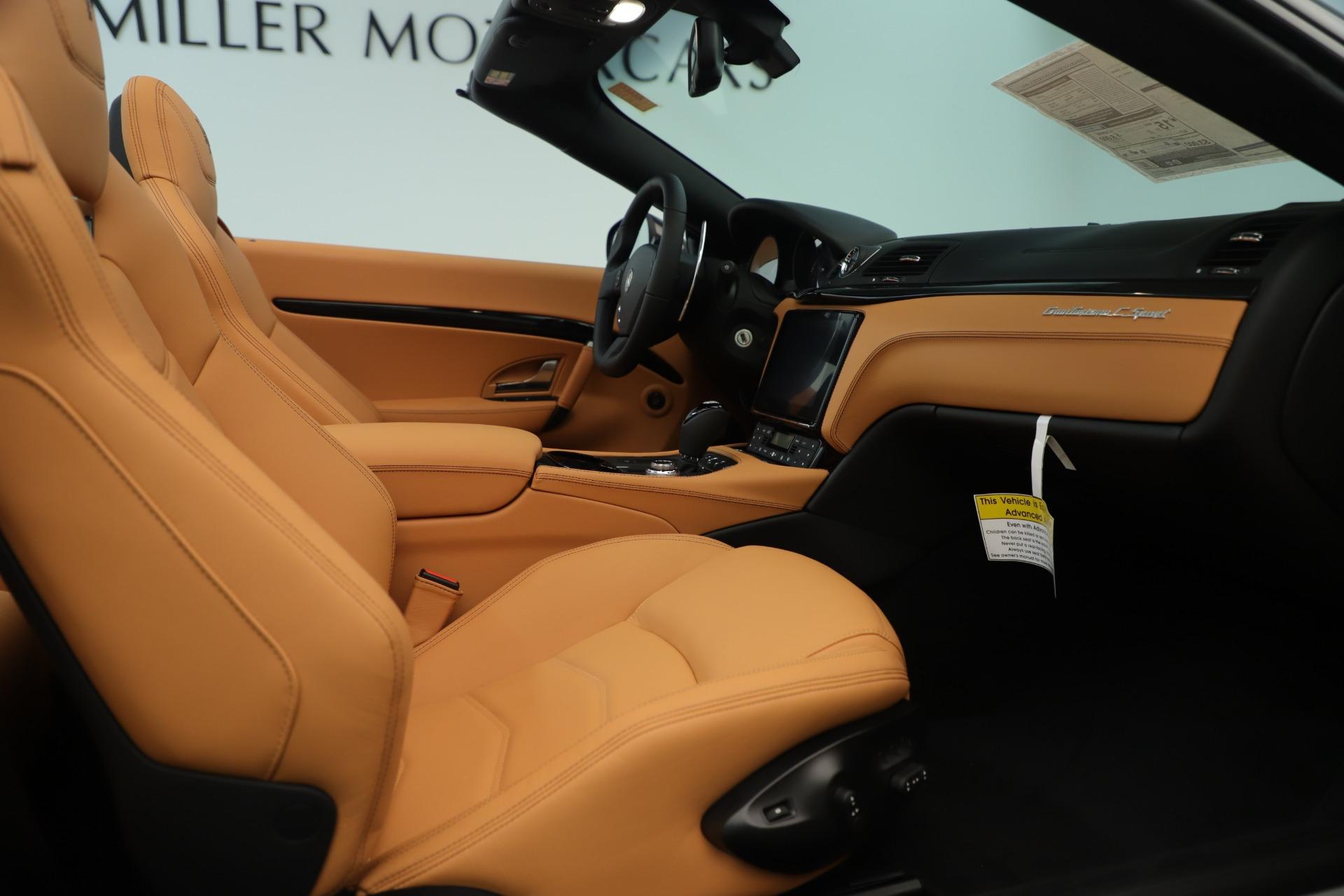 New 2019 Maserati GranTurismo Sport Convertible For Sale In Greenwich, CT 3367_p27