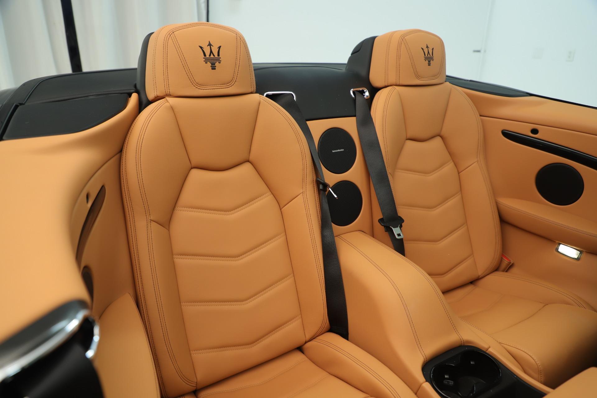 New 2019 Maserati GranTurismo Sport Convertible For Sale In Greenwich, CT 3367_p29
