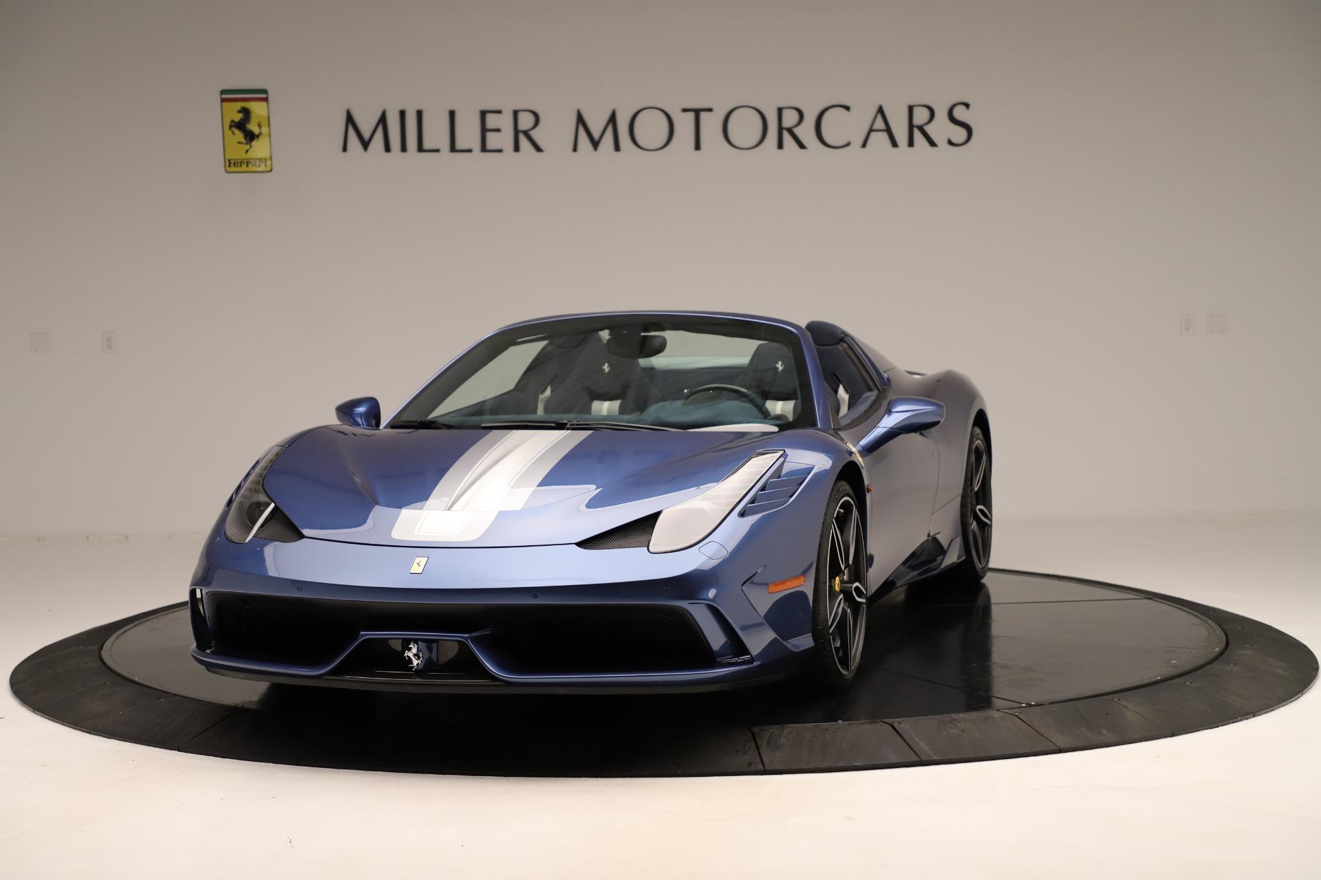 2015 Ferrari 458 Speciale >> Used 2015 Ferrari 458 Speciale Aperta For Sale Maserati Of