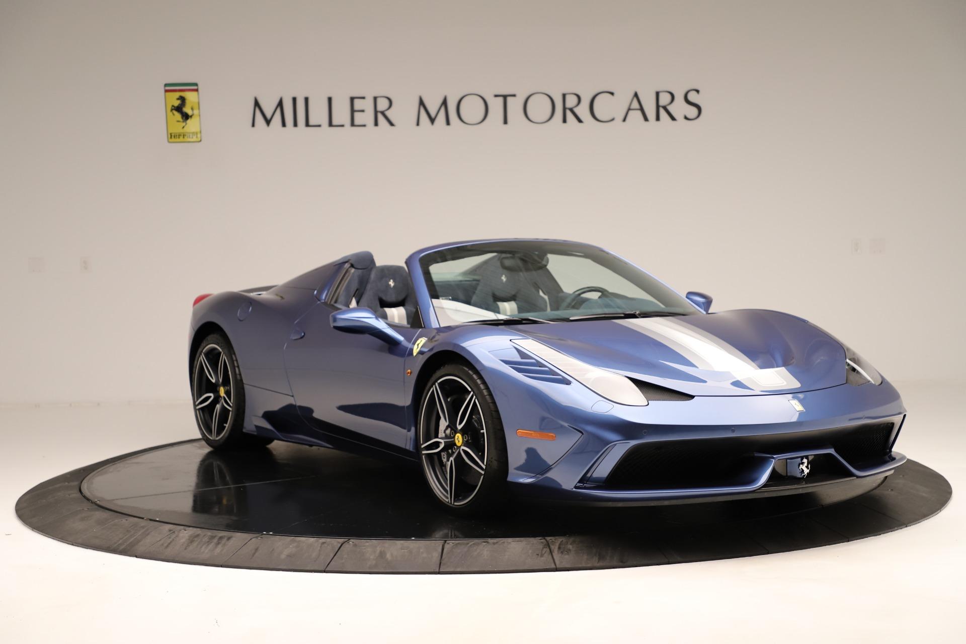 Used 2015 Ferrari 458 Speciale Aperta  For Sale In Greenwich, CT 3372_p12