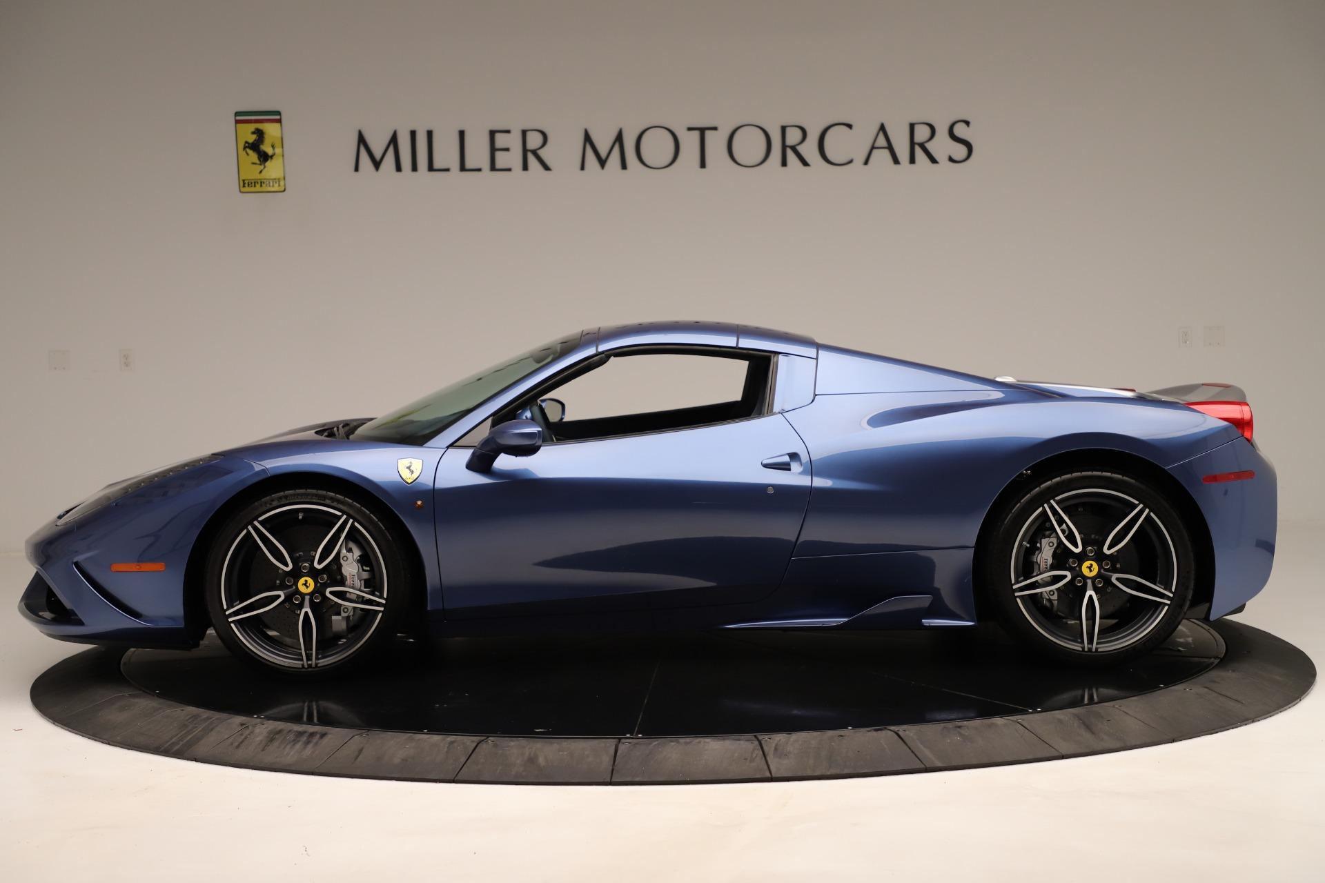 Used 2015 Ferrari 458 Speciale Aperta  For Sale In Greenwich, CT 3372_p15