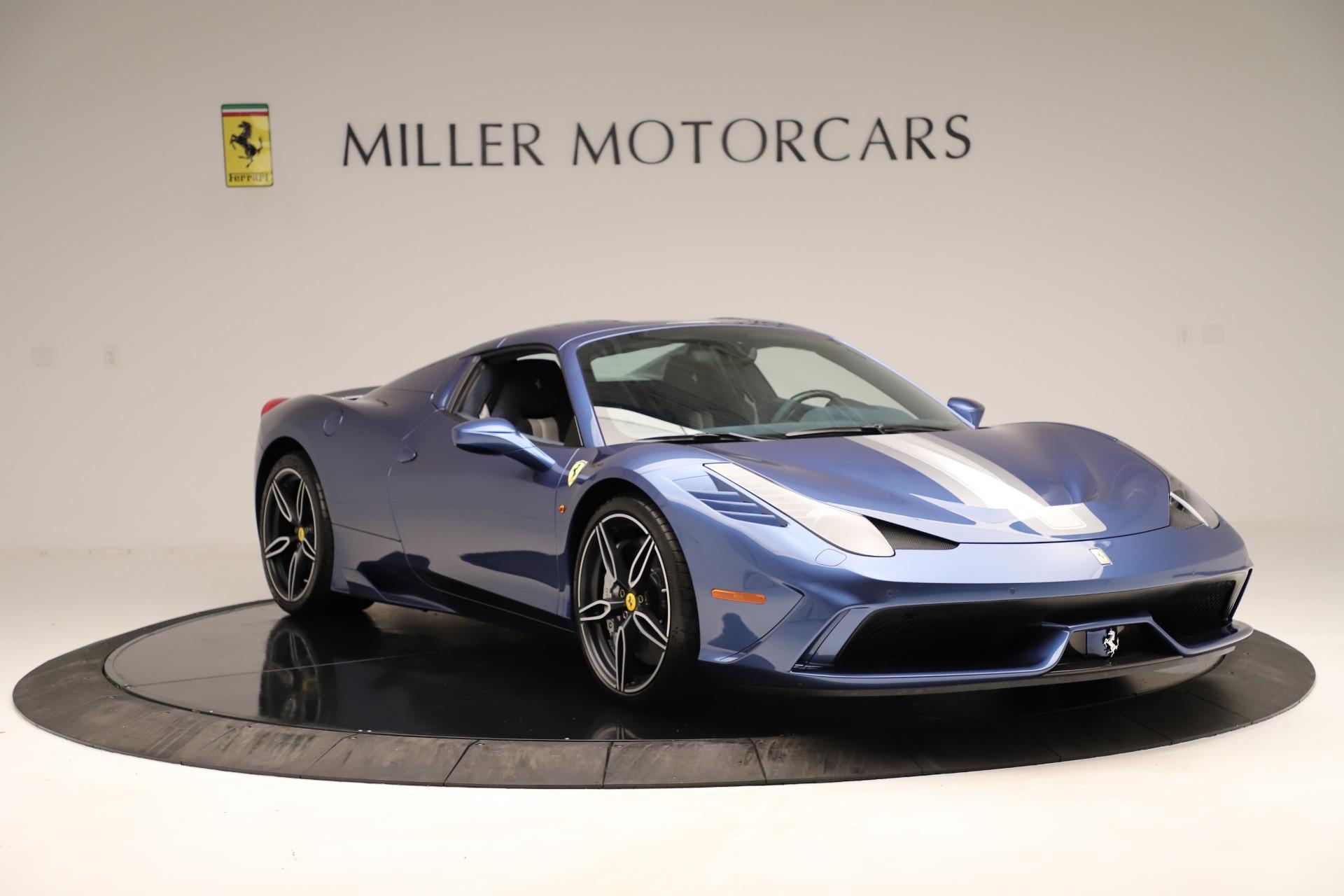 Used 2015 Ferrari 458 Speciale Aperta  For Sale In Greenwich, CT 3372_p19