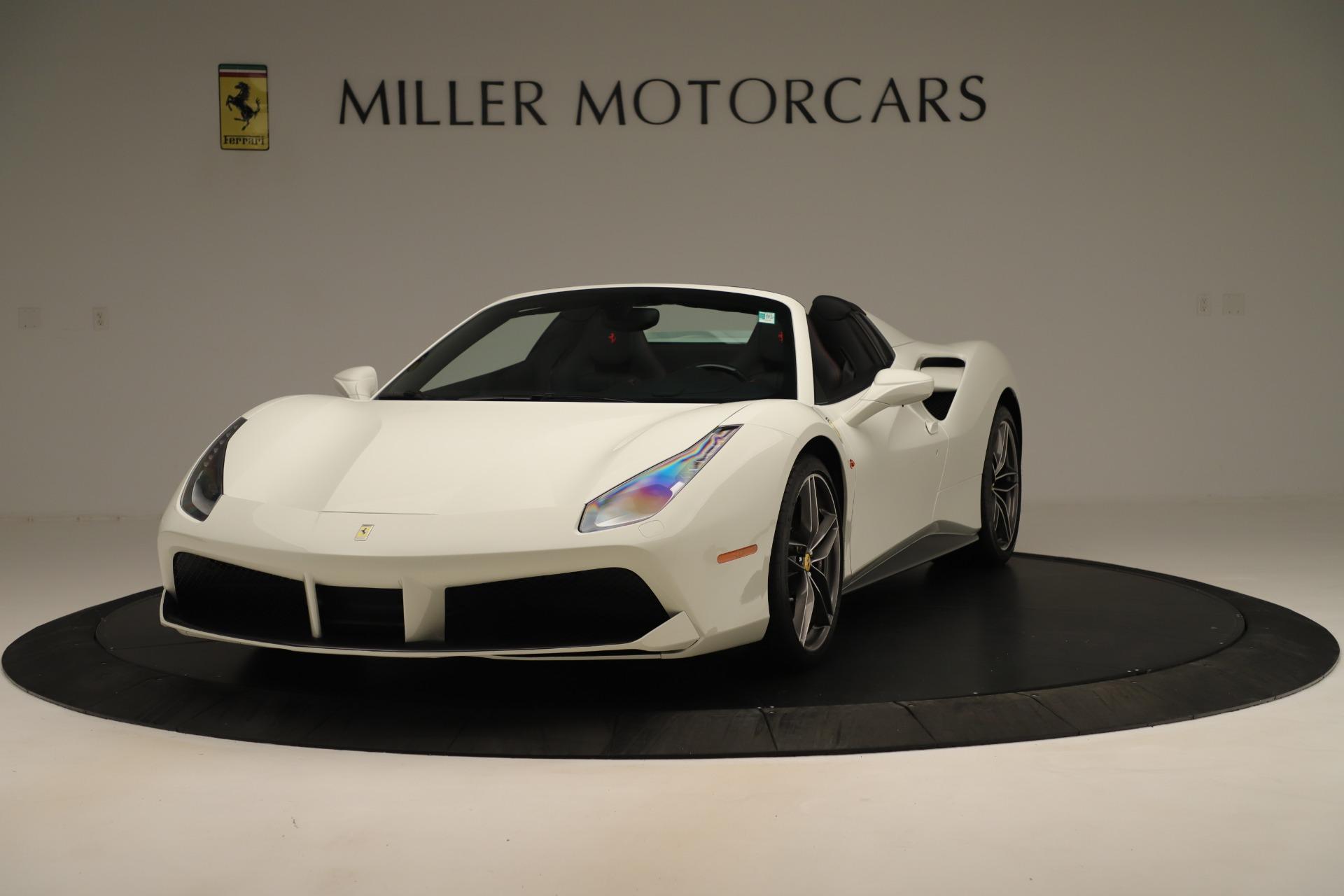 Used 2016 Ferrari 488 Spider  For Sale In Greenwich, CT 3375_main