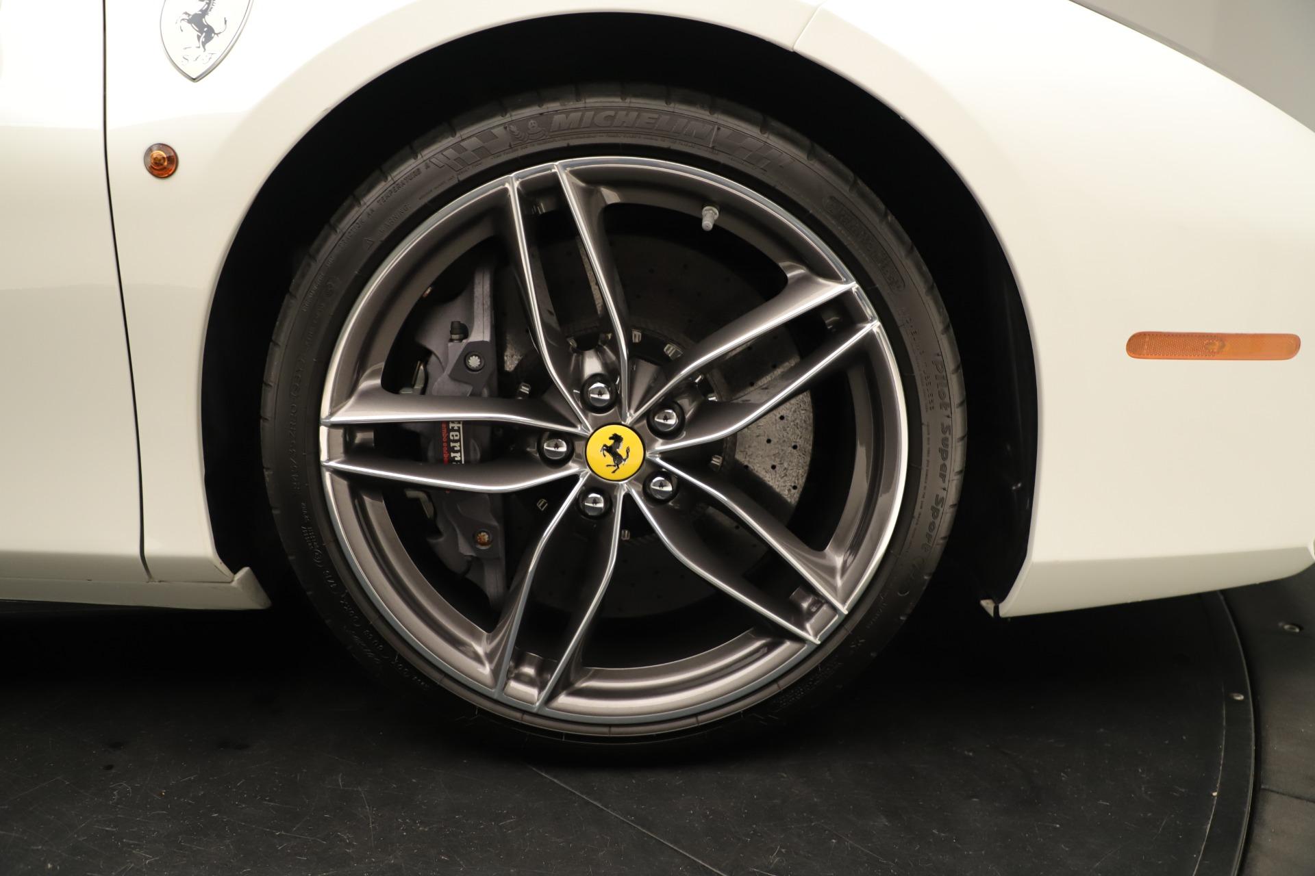 Used 2016 Ferrari 488 Spider  For Sale In Greenwich, CT 3375_p19