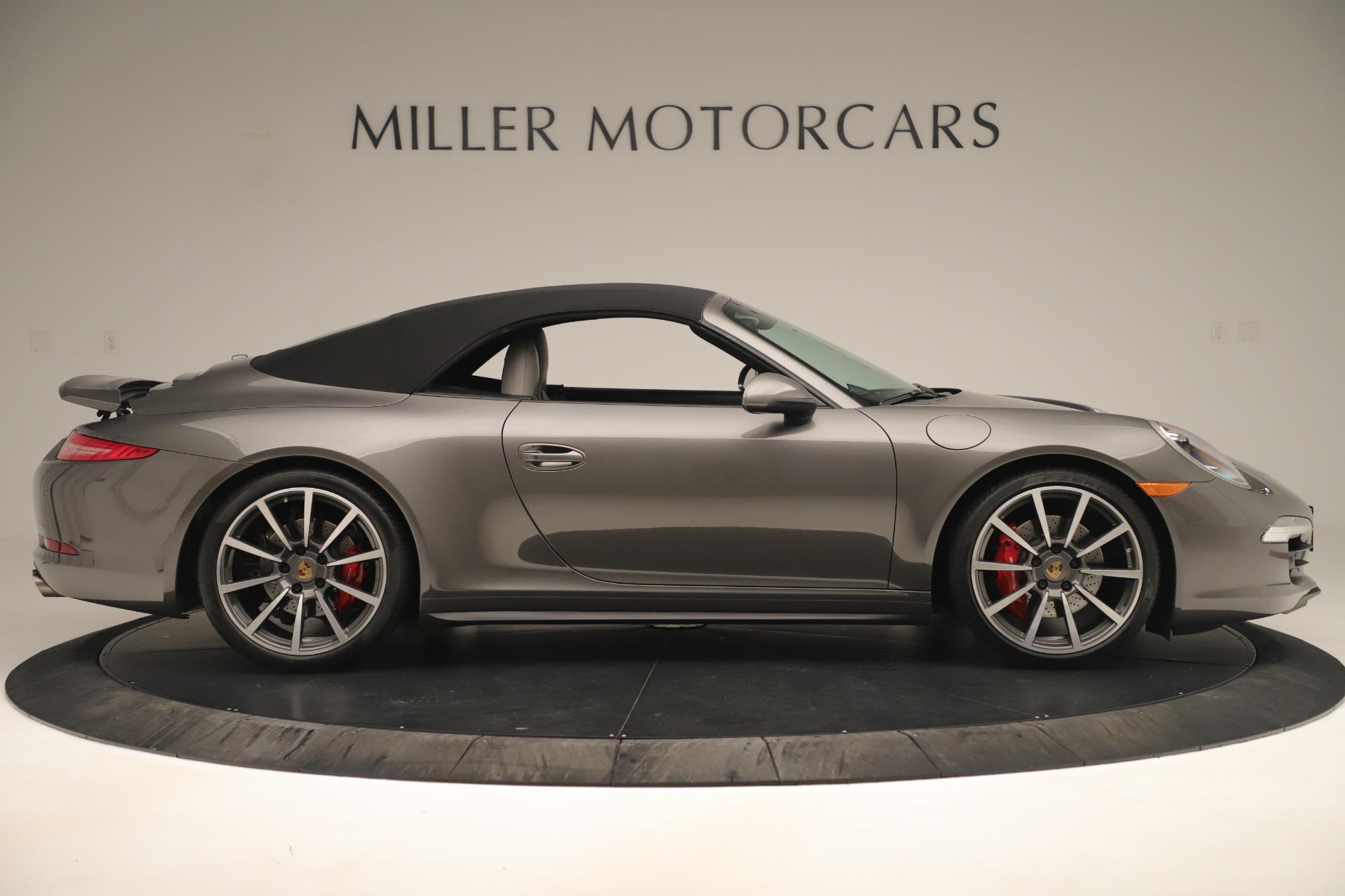 Used 2015 Porsche 911 Carrera 4S For Sale In Greenwich, CT 3383_p16