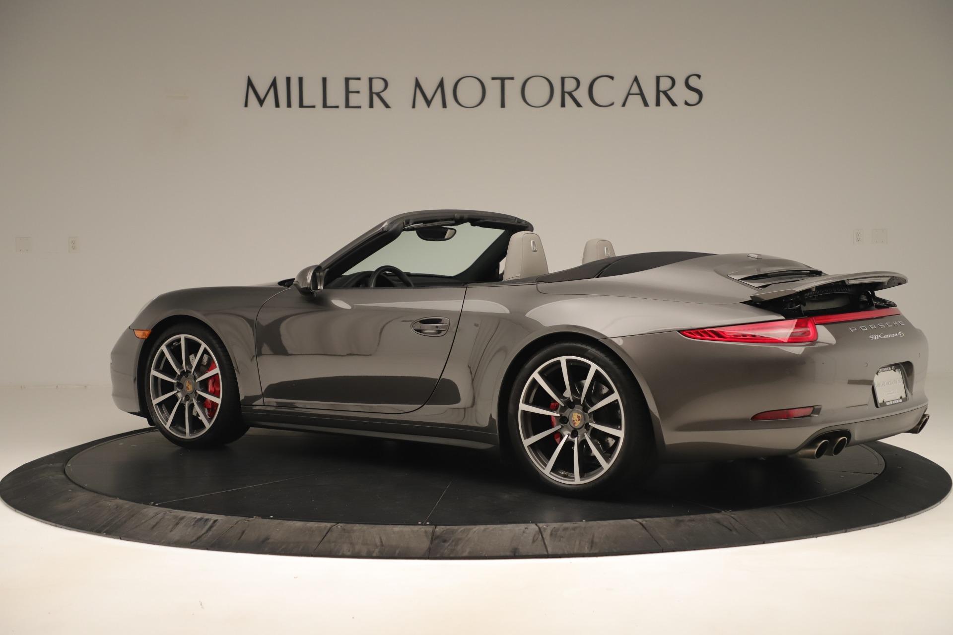 Used 2015 Porsche 911 Carrera 4S For Sale In Greenwich, CT 3383_p4