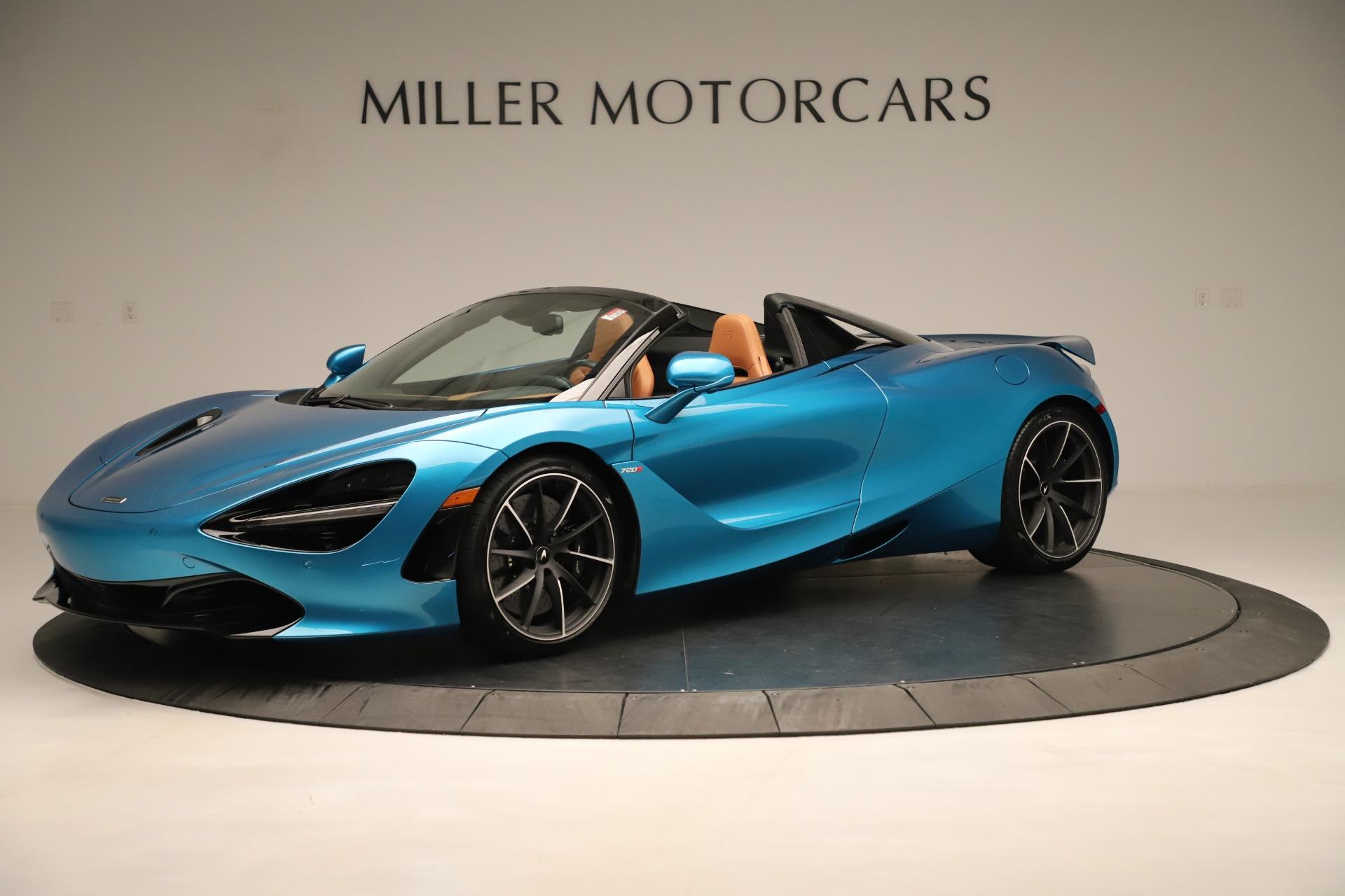New 2020 McLaren 720S Spider For Sale In Greenwich, CT 3387_main