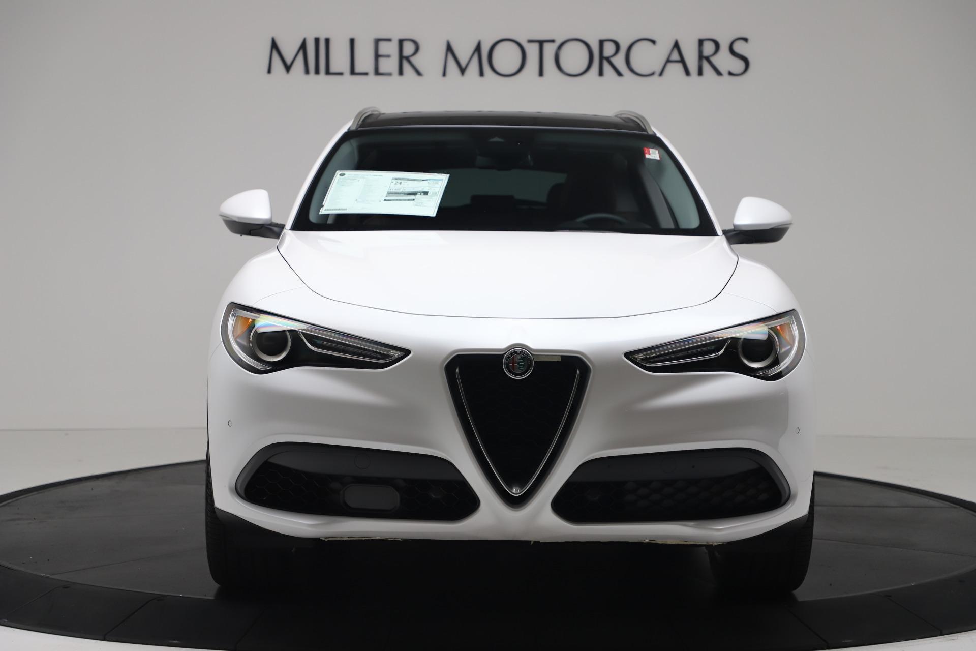 New 2019 Alfa Romeo Stelvio Ti Lusso Q4 For Sale In Greenwich, CT 3397_p12