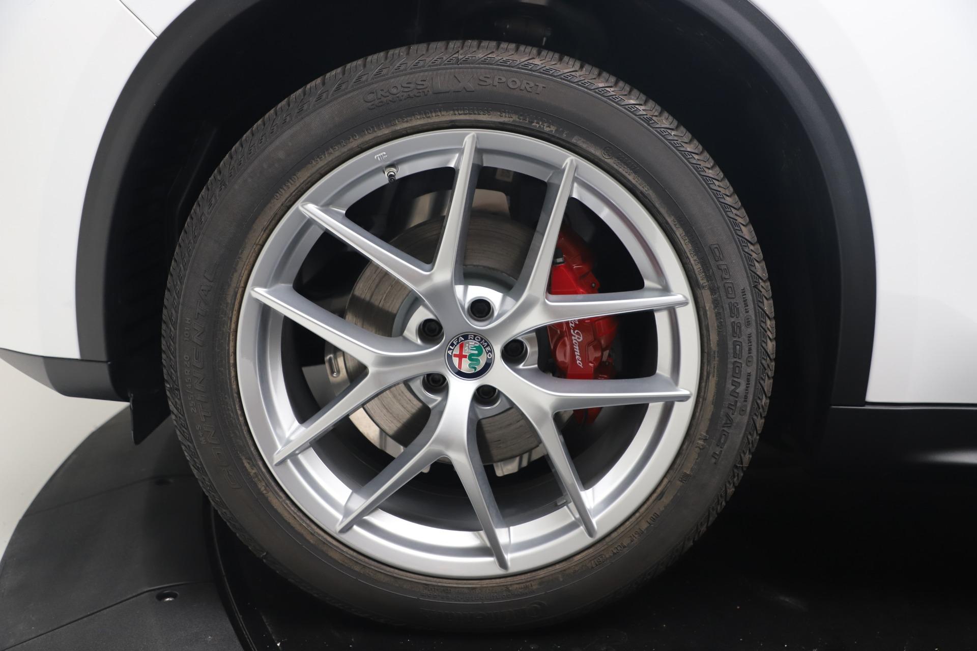New 2019 Alfa Romeo Stelvio Ti Lusso Q4 For Sale In Greenwich, CT 3397_p28