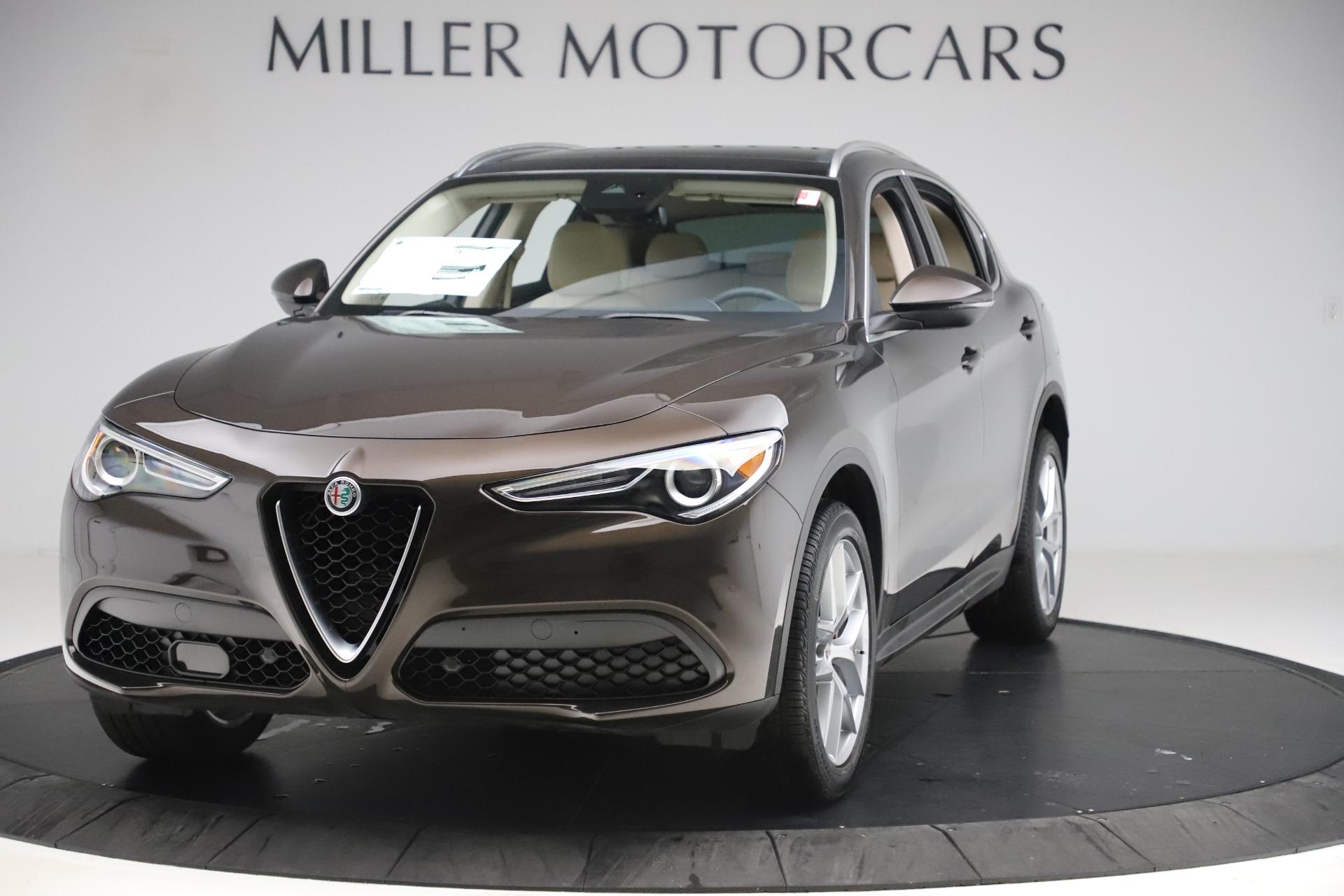 New 2019 Alfa Romeo Stelvio Ti Lusso Q4 For Sale In Greenwich, CT 3404_main