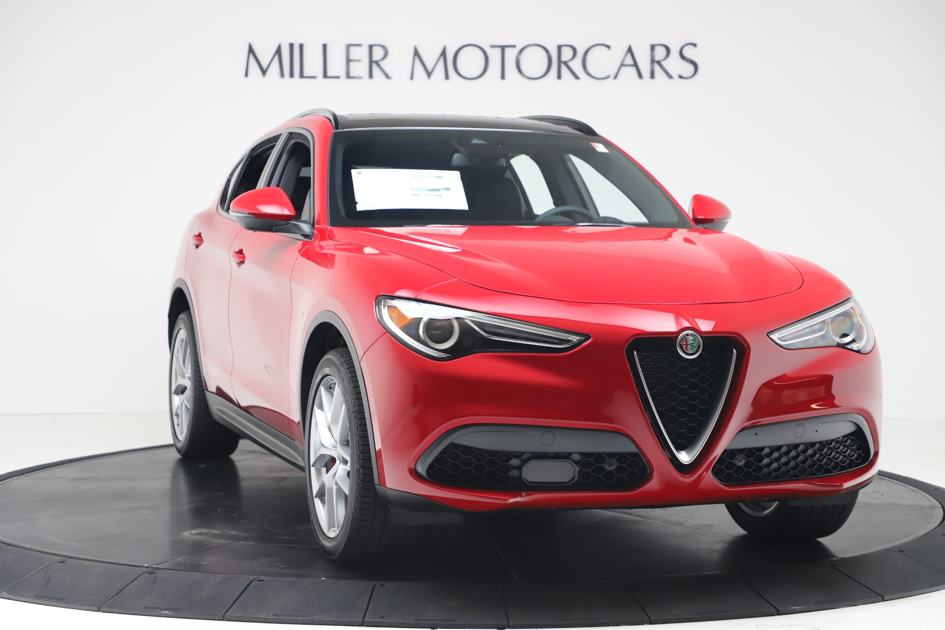 New 2019 Alfa Romeo Stelvio Ti Sport Q4 For Sale In Greenwich, CT 3437_p11
