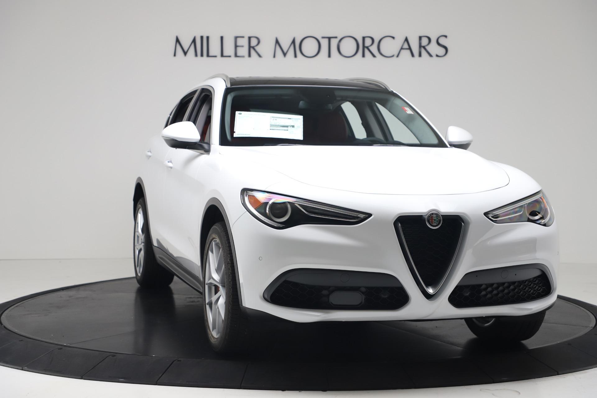 New 2019 Alfa Romeo Stelvio Ti Q4 For Sale In Greenwich, CT 3438_p11