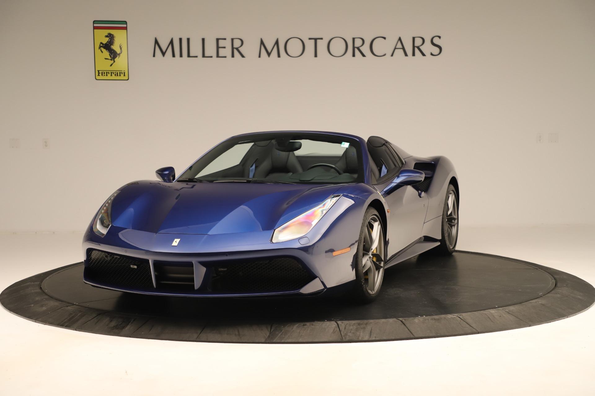 Used 2019 Ferrari 488 Spider  For Sale In Greenwich, CT 3448_main