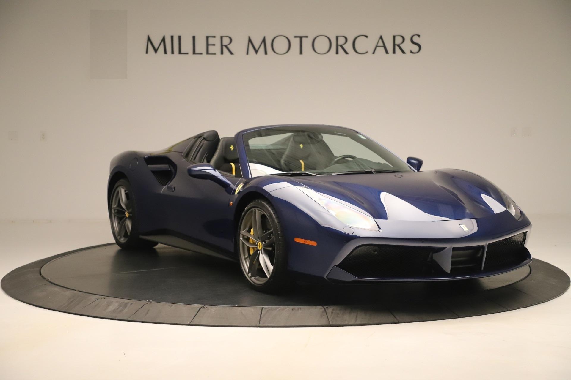 Used 2018 Ferrari 488 Spider  For Sale In Greenwich, CT 3465_p11