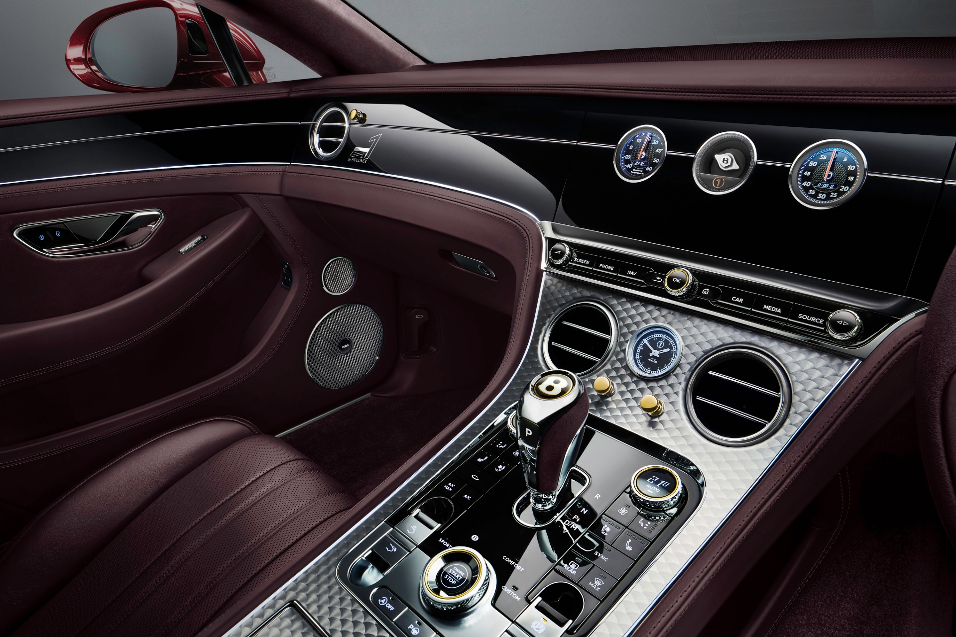 New 2020 Bentley Continental GTC W12 Number 1 Edition by Mulliner For Sale In Greenwich, CT 3467_p4
