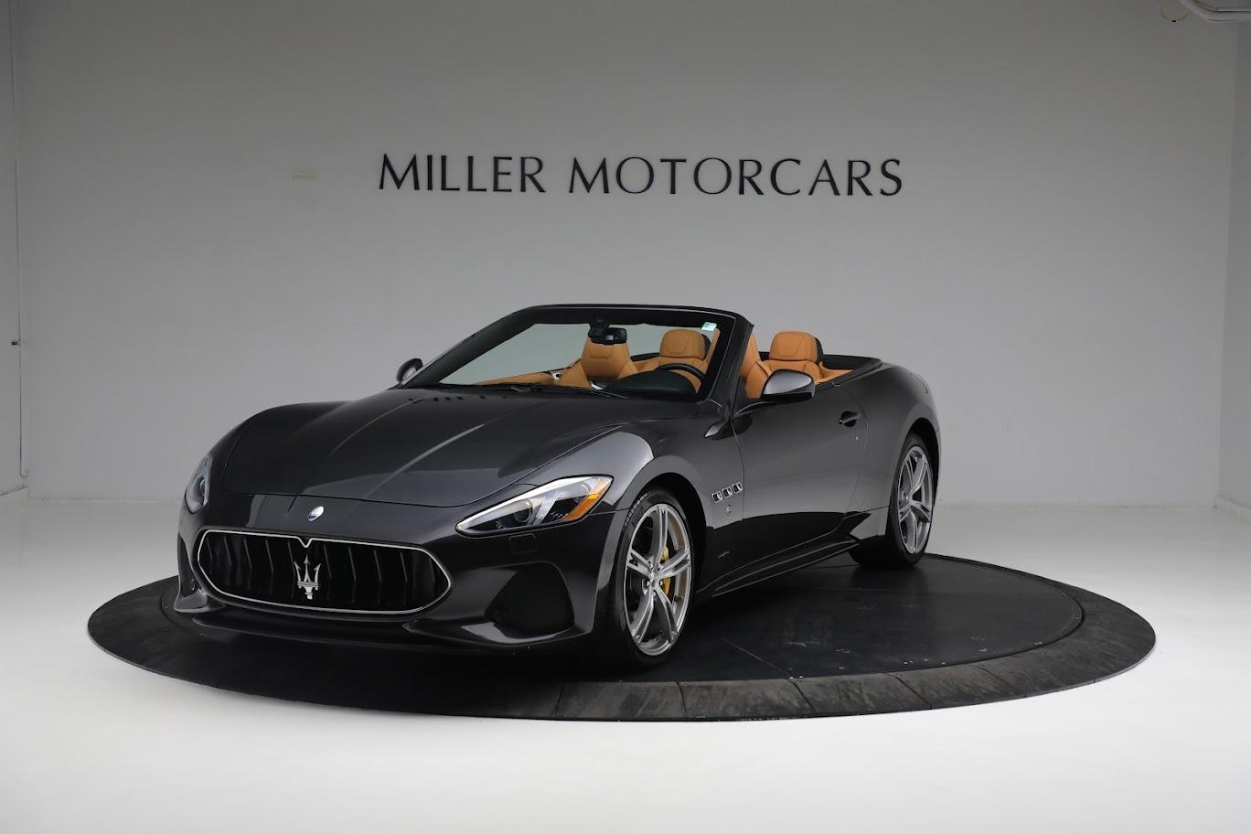 New 2019 Maserati GranTurismo Sport Convertible For Sale In Greenwich, CT 3469_p11