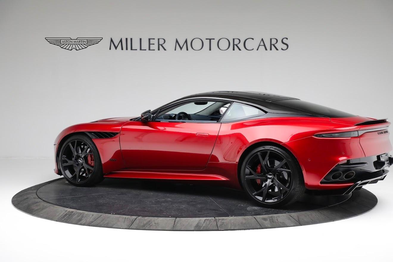 Used 2019 Aston Martin DBS Superleggera For Sale In Greenwich, CT 3471_p3