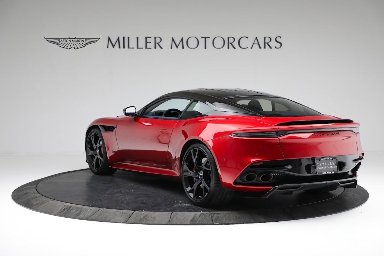 Used 2019 Aston Martin DBS Superleggera For Sale In Greenwich, CT 3471_p4