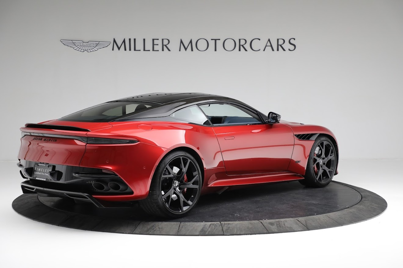 Used 2019 Aston Martin DBS Superleggera For Sale In Greenwich, CT 3471_p7