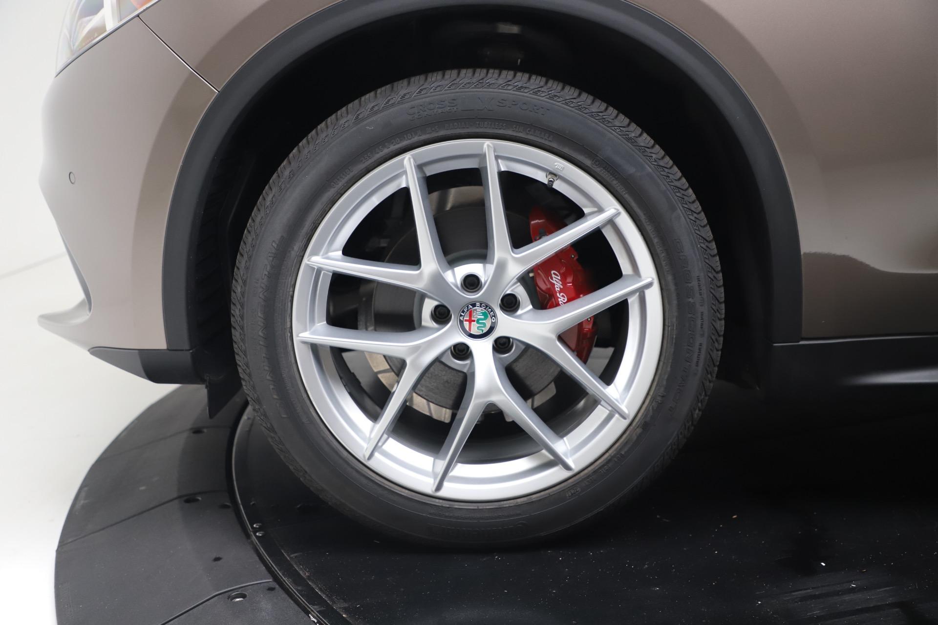 New 2019 Alfa Romeo Stelvio Ti Sport Q4 For Sale In Greenwich, CT 3489_p30