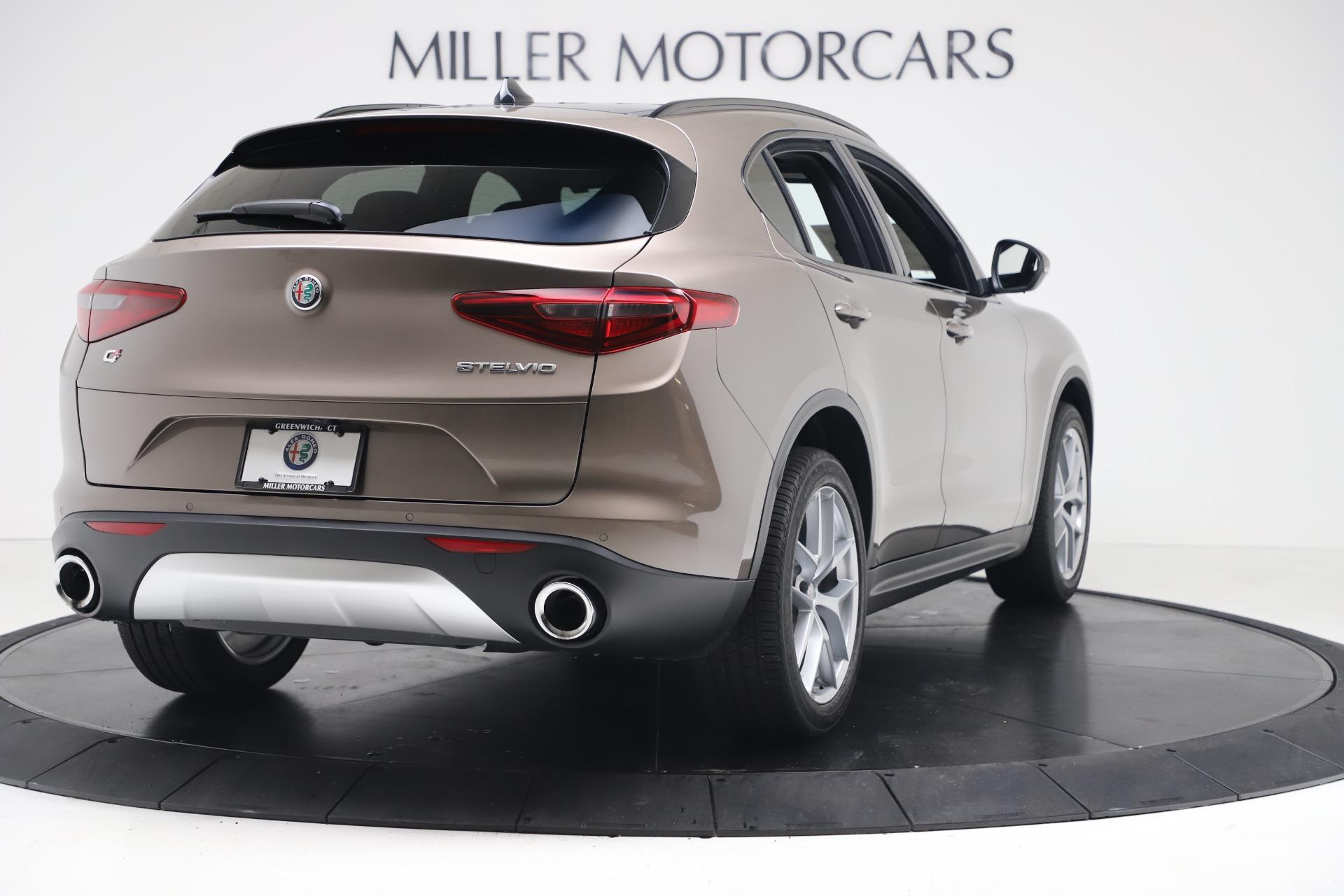New 2019 Alfa Romeo Stelvio Ti Sport Q4 For Sale In Greenwich, CT 3489_p7