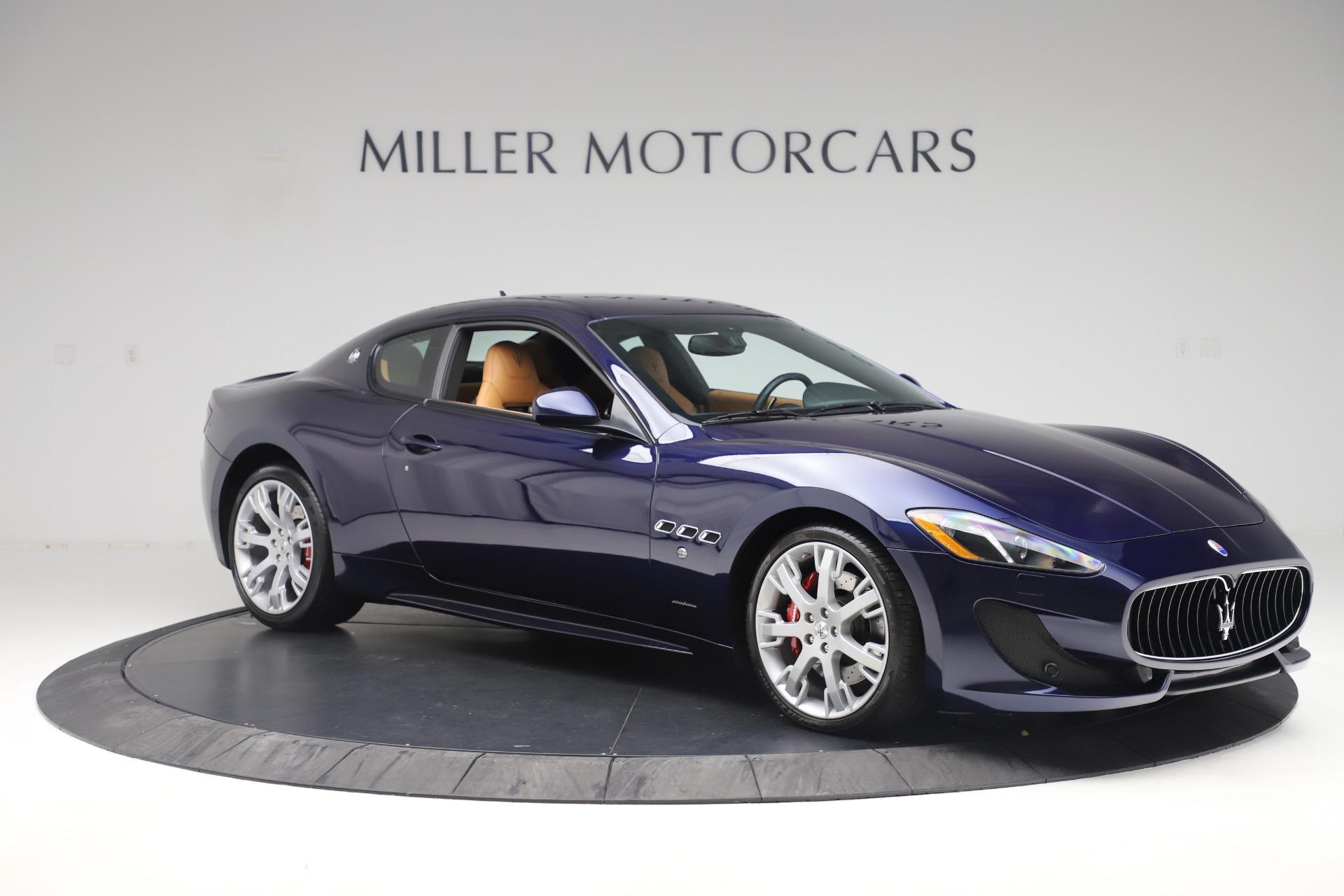 Used 2016 Maserati GranTurismo Sport For Sale In Greenwich, CT 3540_p10