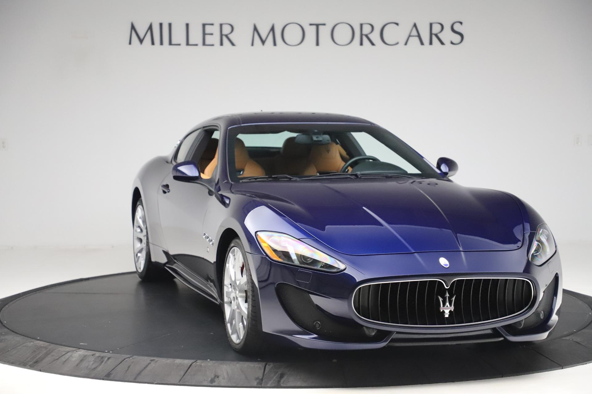Used 2016 Maserati GranTurismo Sport For Sale In Greenwich, CT 3540_p11