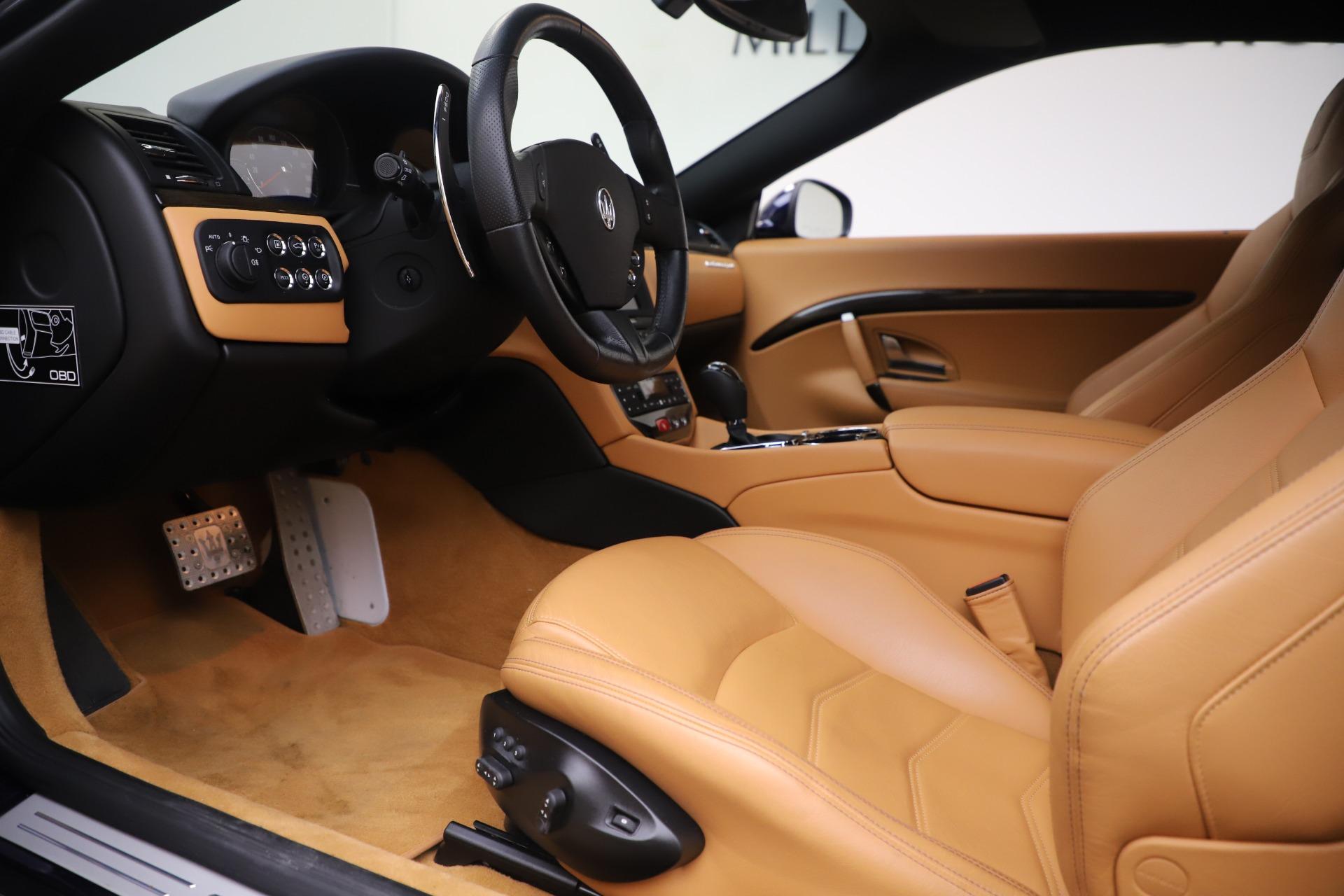 Used 2016 Maserati GranTurismo Sport For Sale In Greenwich, CT 3540_p14
