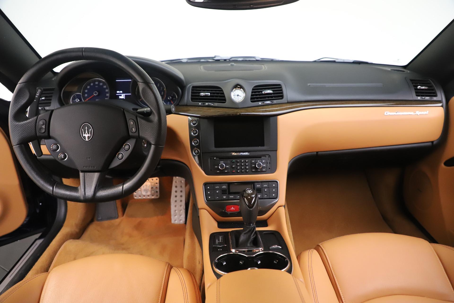 Used 2016 Maserati GranTurismo Sport For Sale In Greenwich, CT 3540_p16