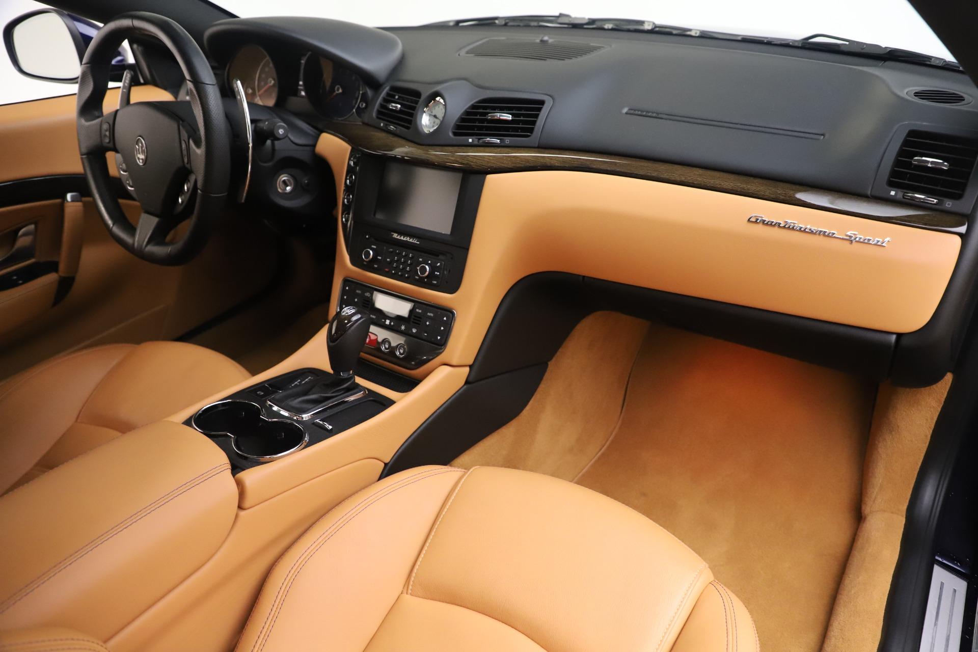 Used 2016 Maserati GranTurismo Sport For Sale In Greenwich, CT 3540_p19