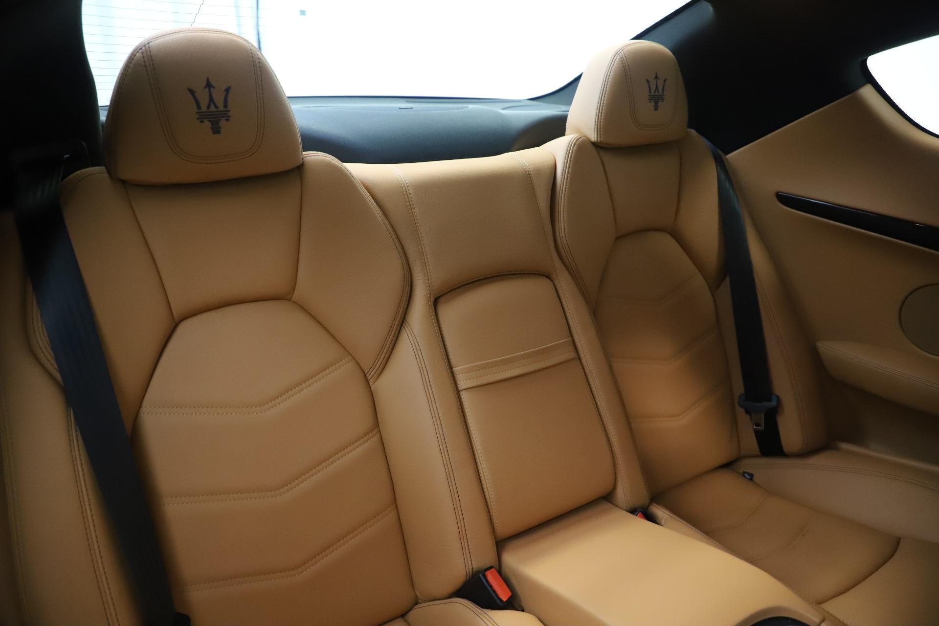 Used 2016 Maserati GranTurismo Sport For Sale In Greenwich, CT 3540_p23
