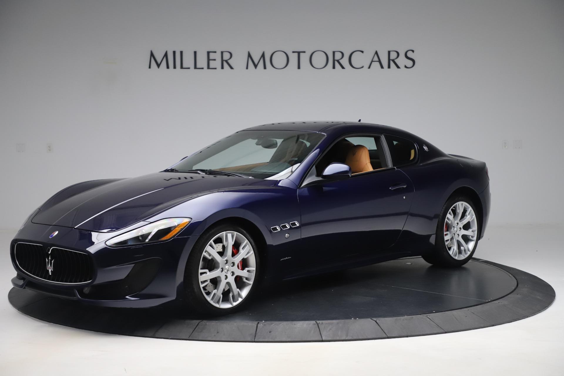 Used 2016 Maserati GranTurismo Sport For Sale In Greenwich, CT 3540_p2
