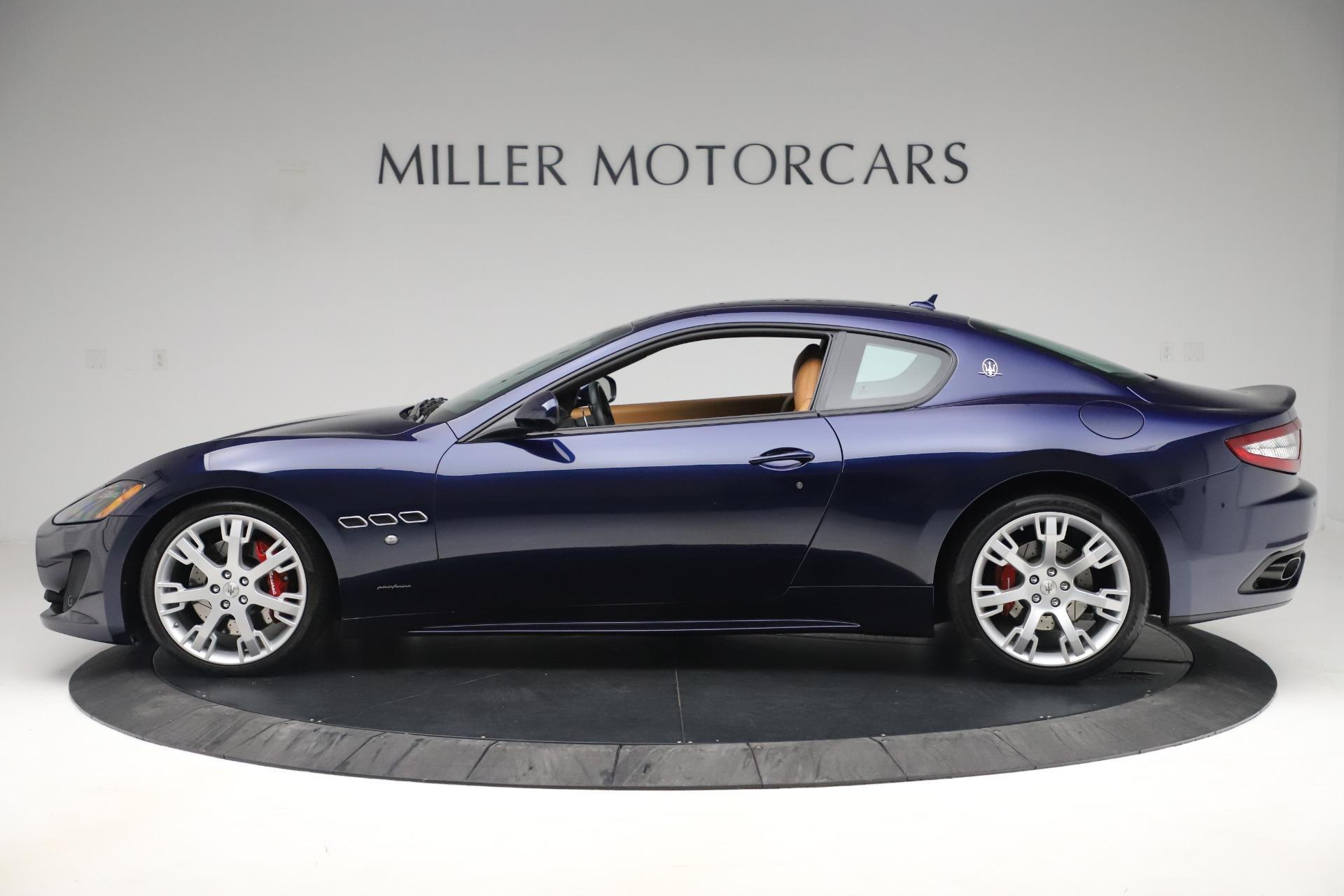 Used 2016 Maserati GranTurismo Sport For Sale In Greenwich, CT 3540_p3