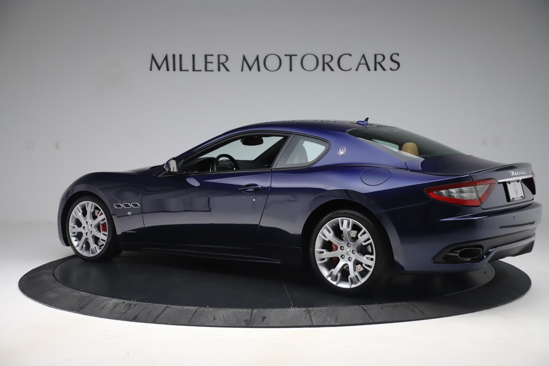 Used 2016 Maserati GranTurismo Sport For Sale In Greenwich, CT 3540_p4