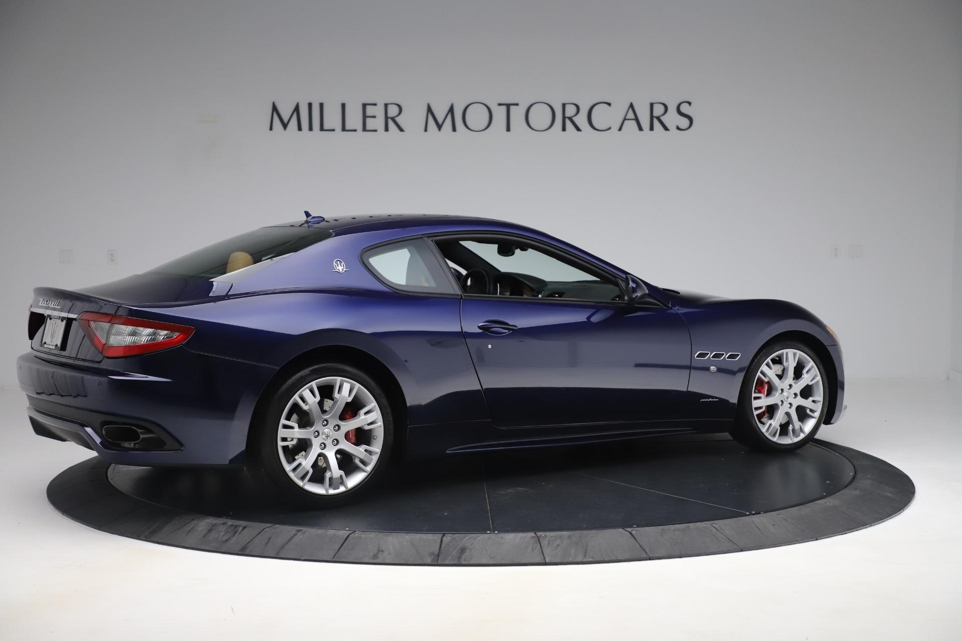 Used 2016 Maserati GranTurismo Sport For Sale In Greenwich, CT 3540_p8
