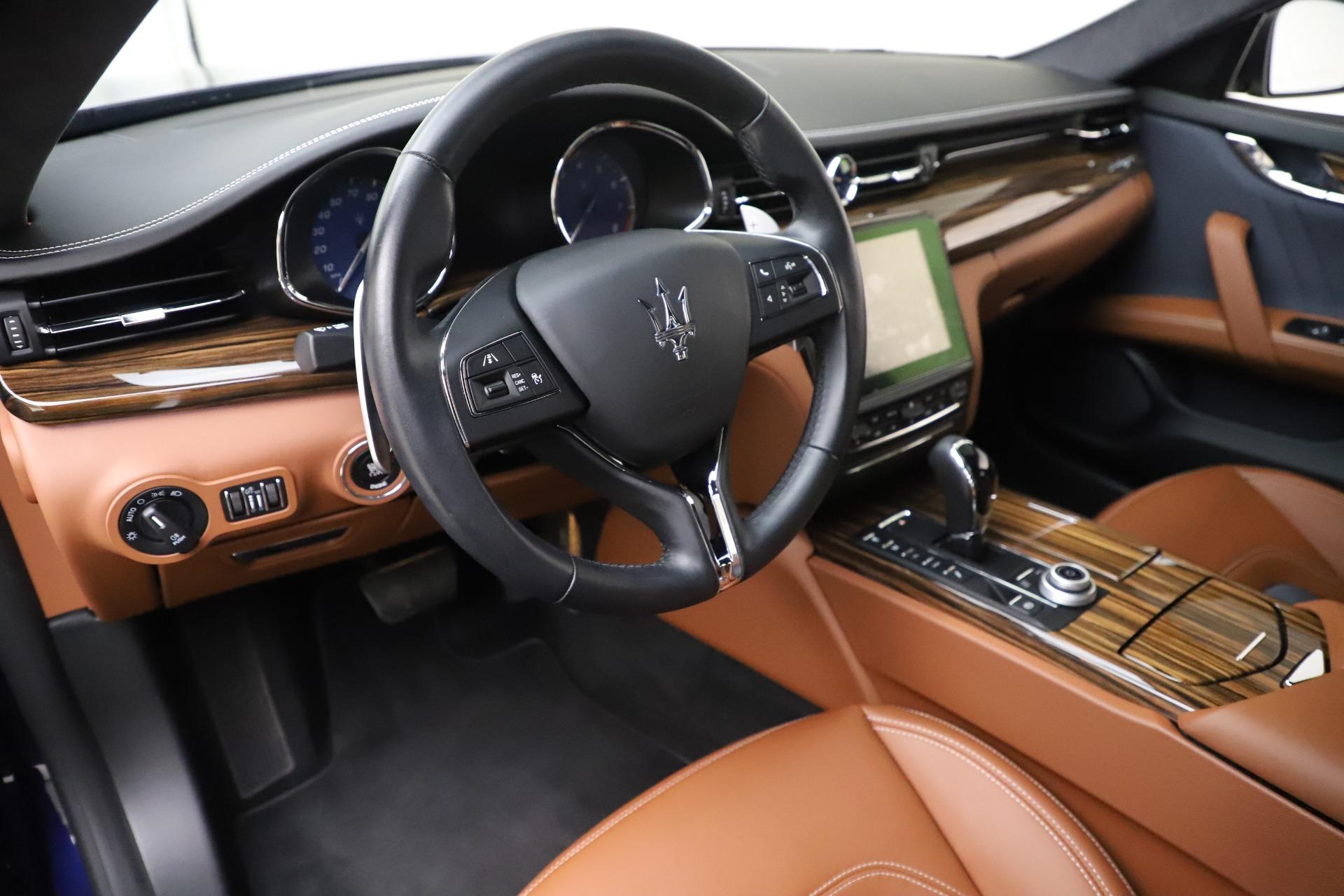Used 2017 Maserati Quattroporte S Q4 GranLusso For Sale In Greenwich, CT 3553_p13