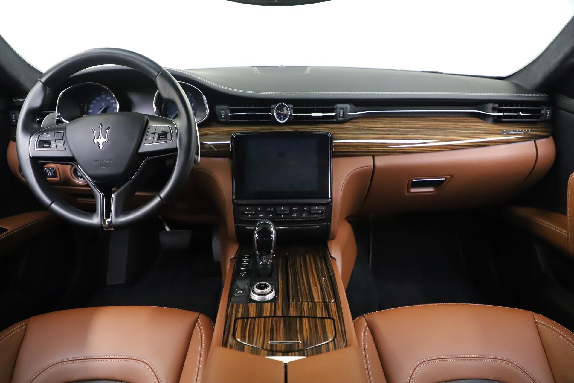 Used 2017 Maserati Quattroporte S Q4 GranLusso For Sale In Greenwich, CT 3553_p16