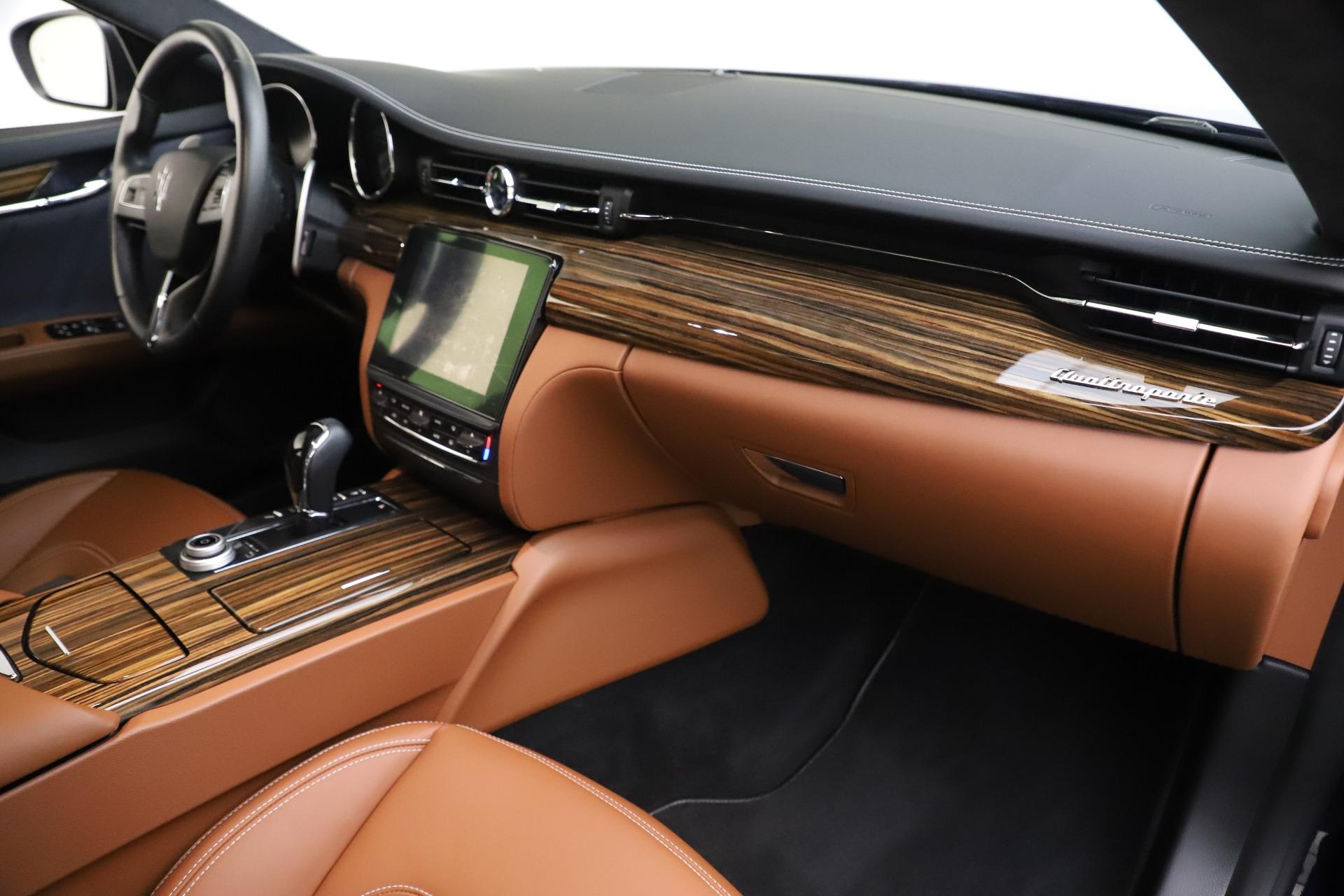 Used 2017 Maserati Quattroporte S Q4 GranLusso For Sale In Greenwich, CT 3553_p22