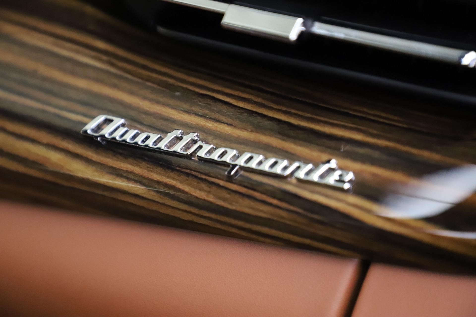 Used 2017 Maserati Quattroporte S Q4 GranLusso For Sale In Greenwich, CT 3553_p31